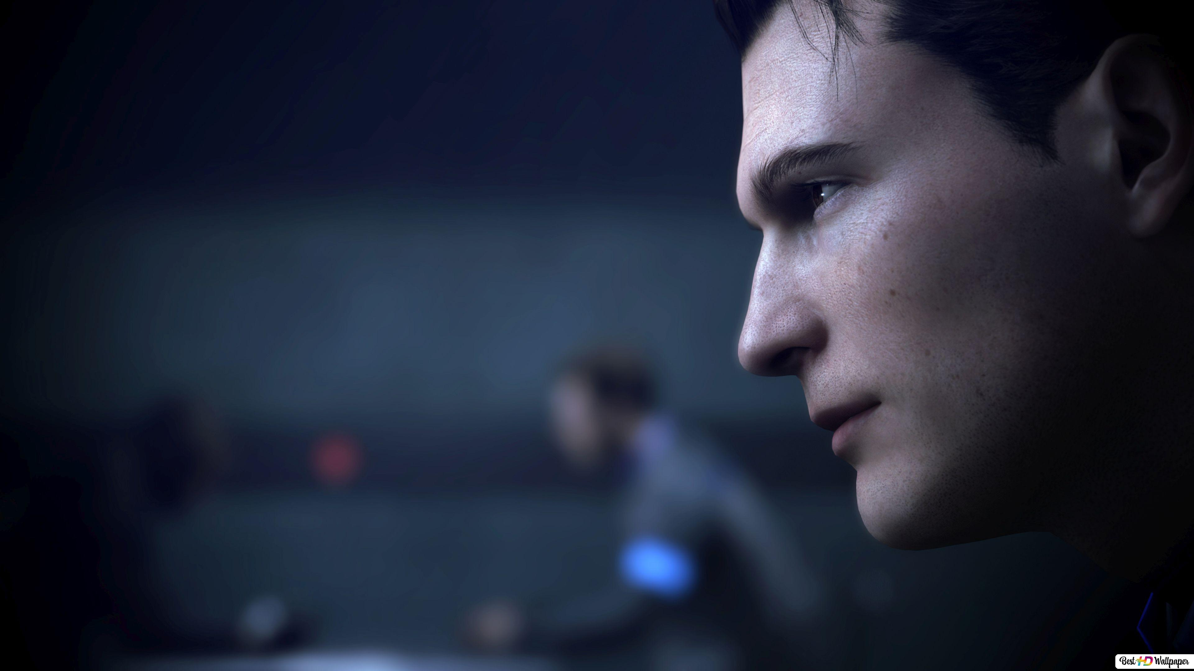Detroit Become Human Connor Hd Wallpaper Download