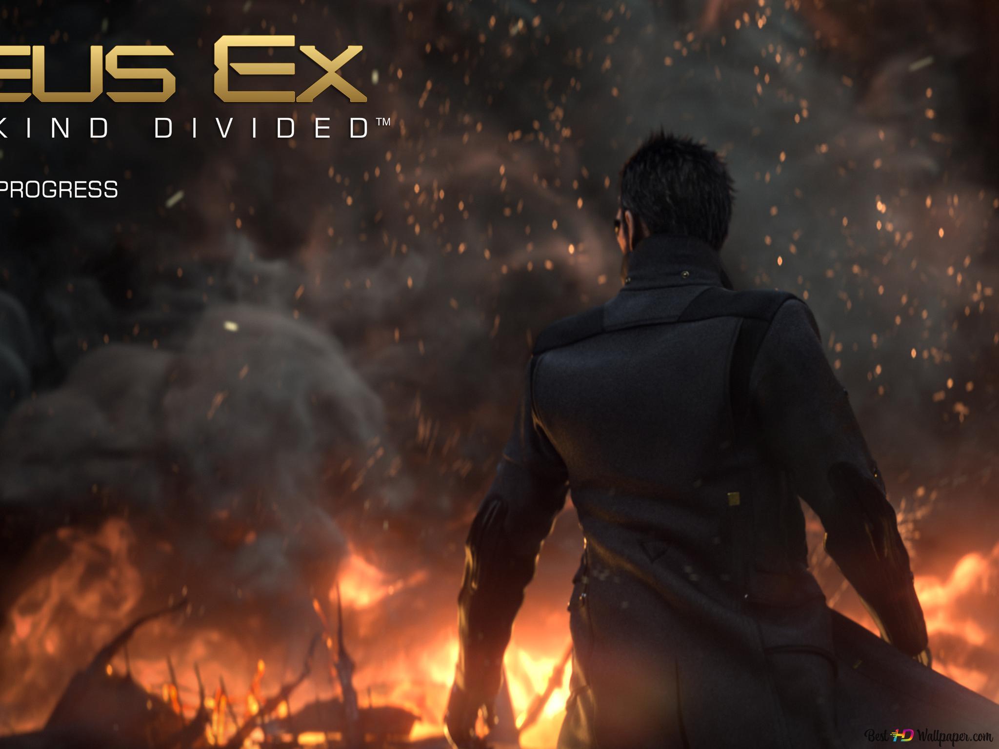 Deus Ex Mankind Divided Video Game Cyborg Adam Jensen Hd