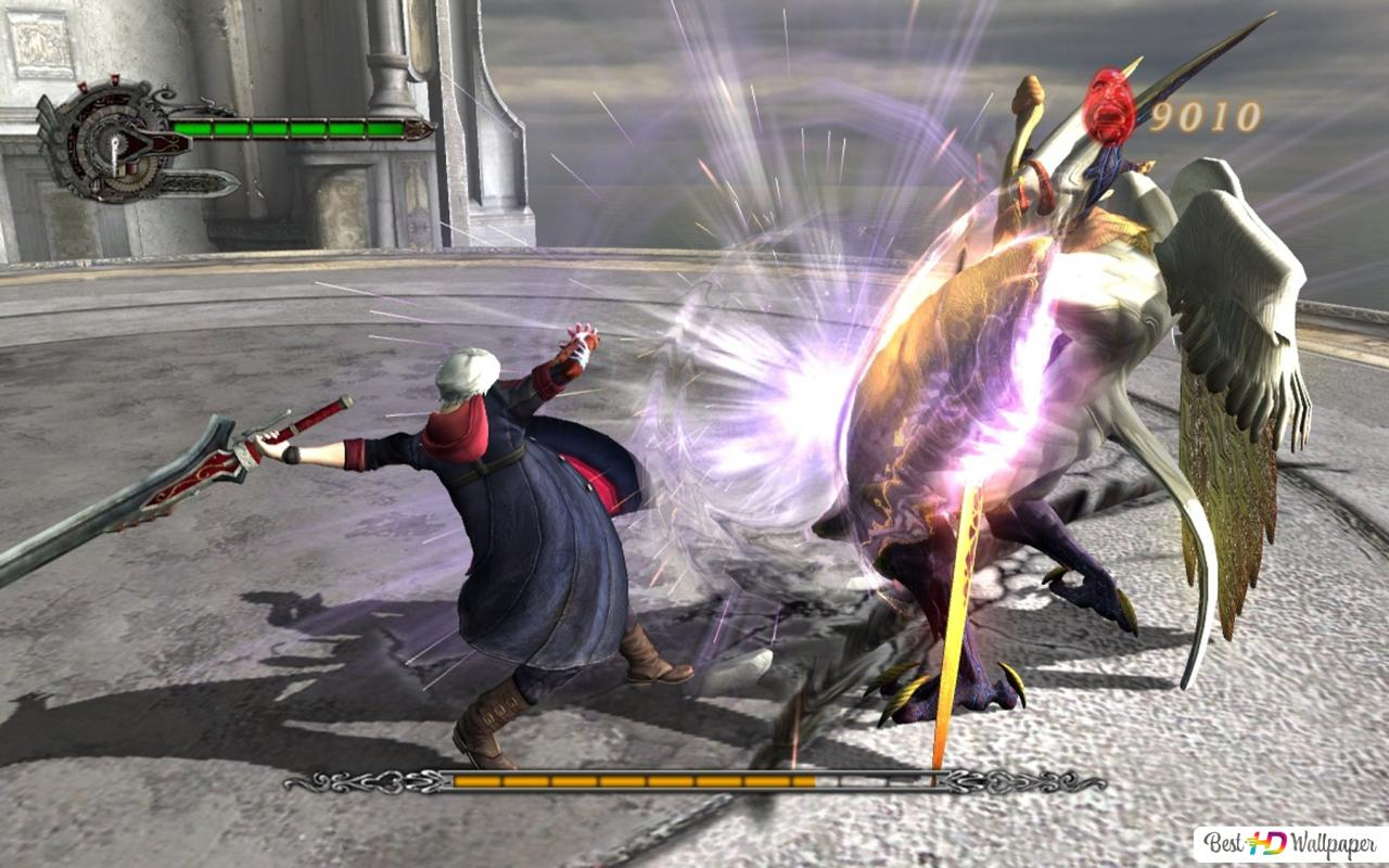 Descargar Fondo De Pantalla Devil May Cry 4 Nero Combates Hd