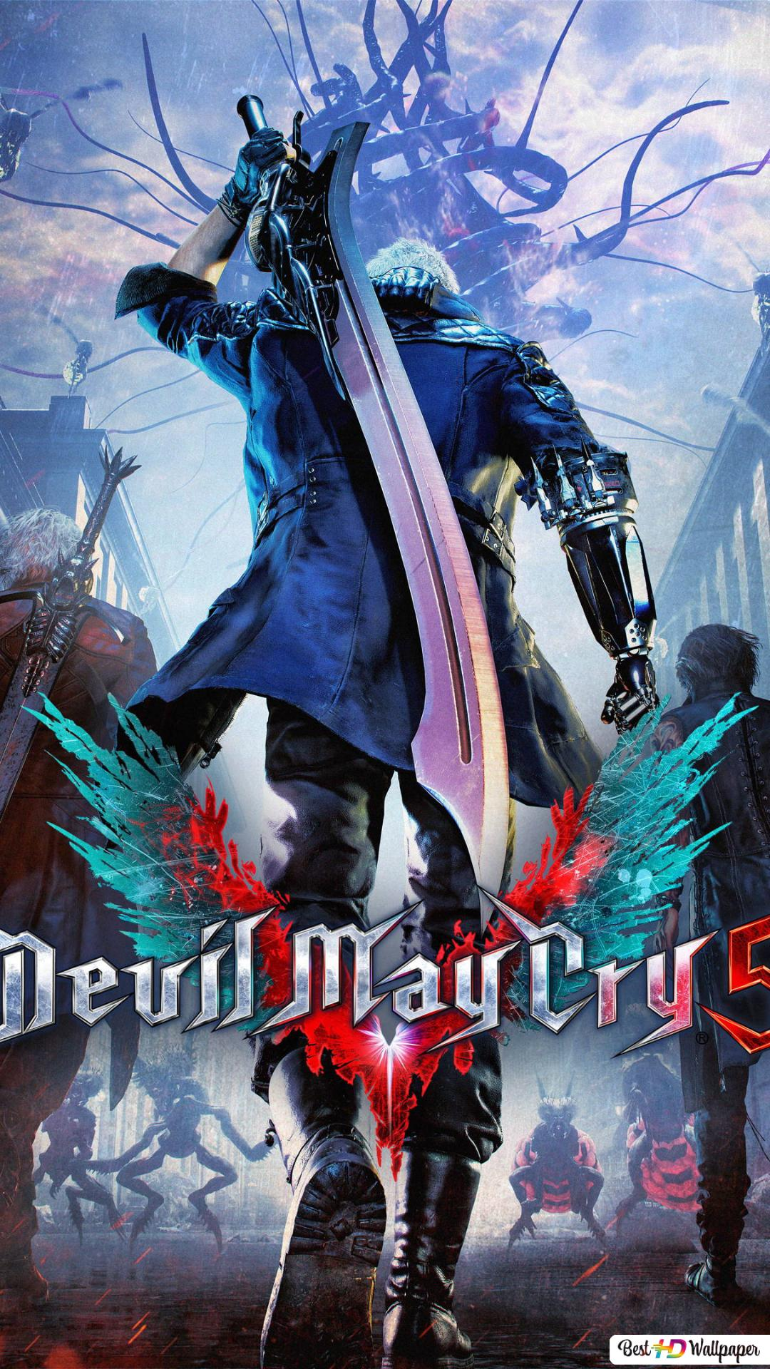 Devil May Cry 5 Action Video Game Hd Wallpaper Download