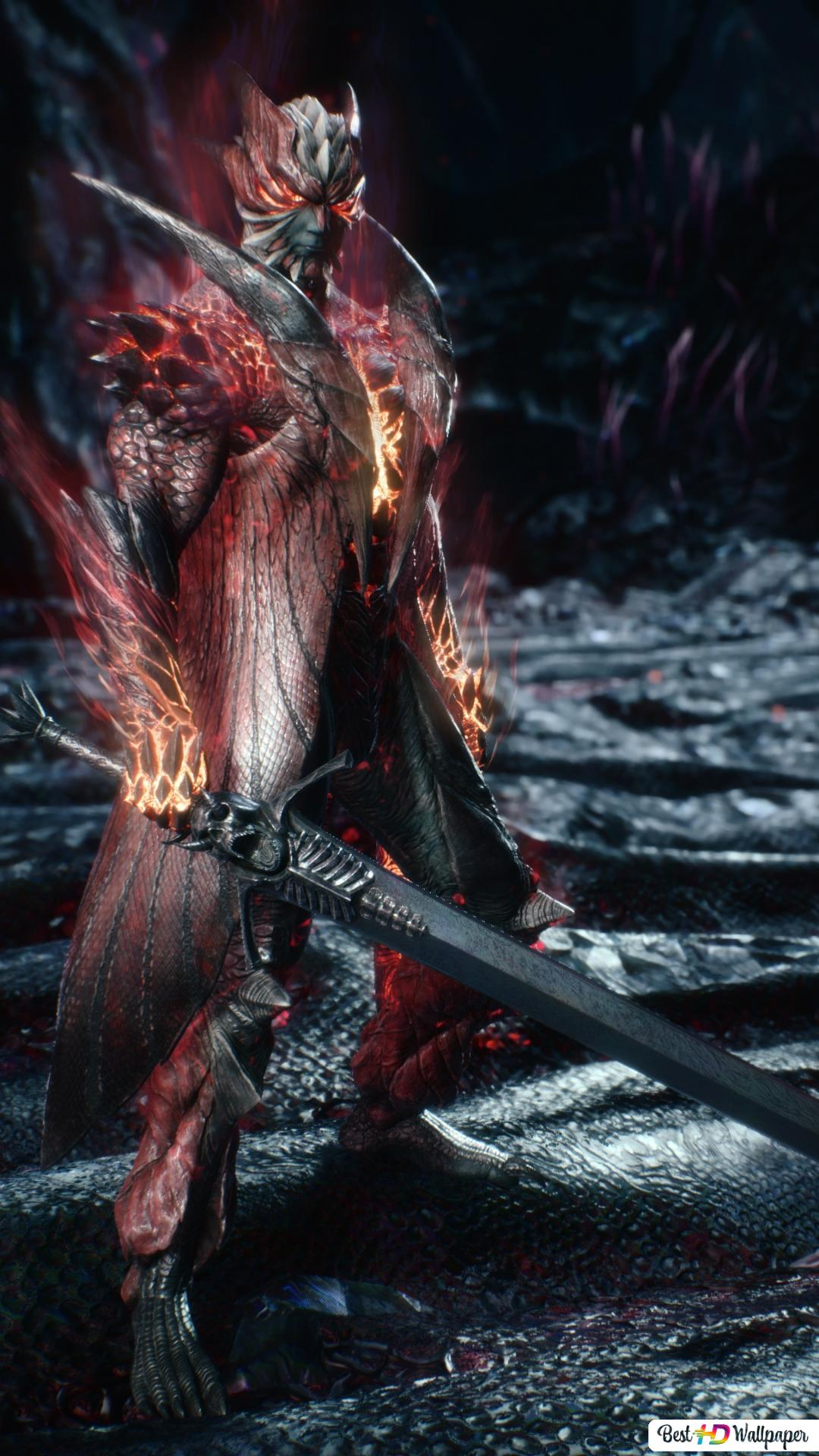 Devil May Cry 5 Dante Devil Trigger Rebellion Sword Hd Wallpaper