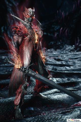 Devil May Cry 5 Dante Devil Trigger Rebellion Sword Hd