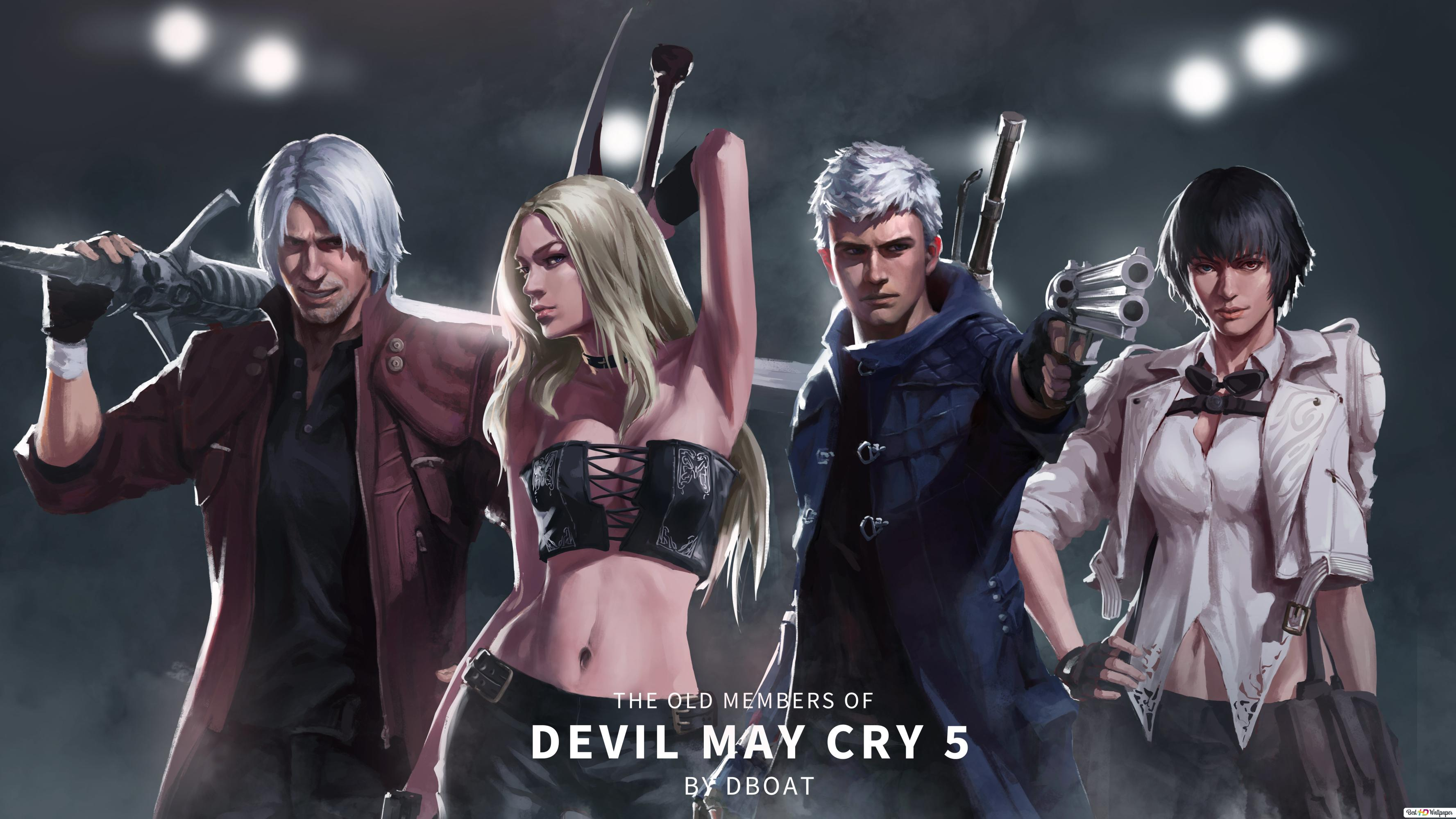 Devil May Cry 5 Demon Heroes Hd Wallpaper Download