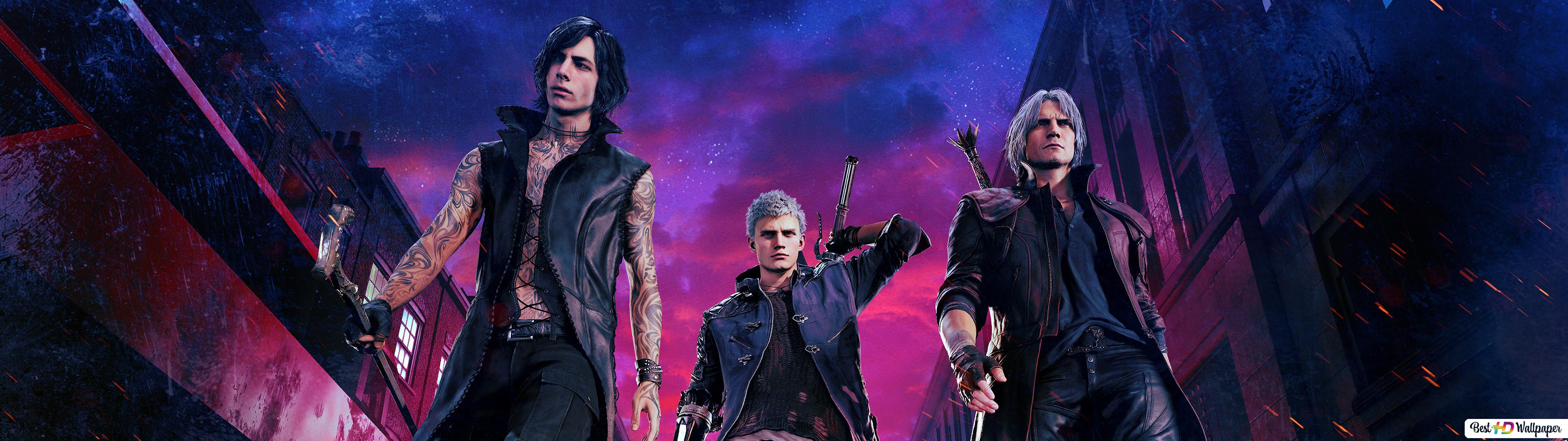 Devil May Cry 5 V Nero Dante Hd Wallpaper Download