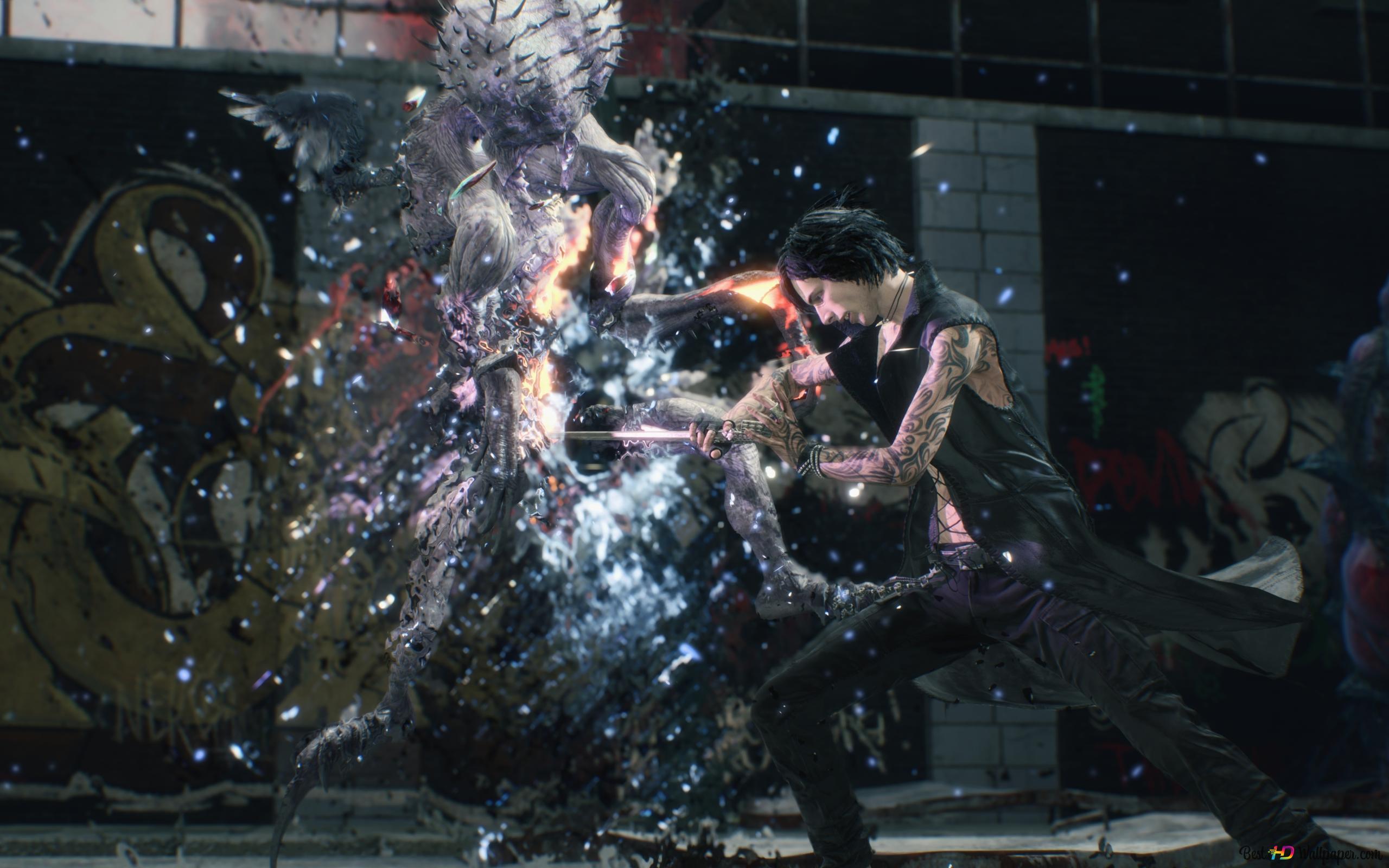 Devil May Cry 5 V Hd обои скачать
