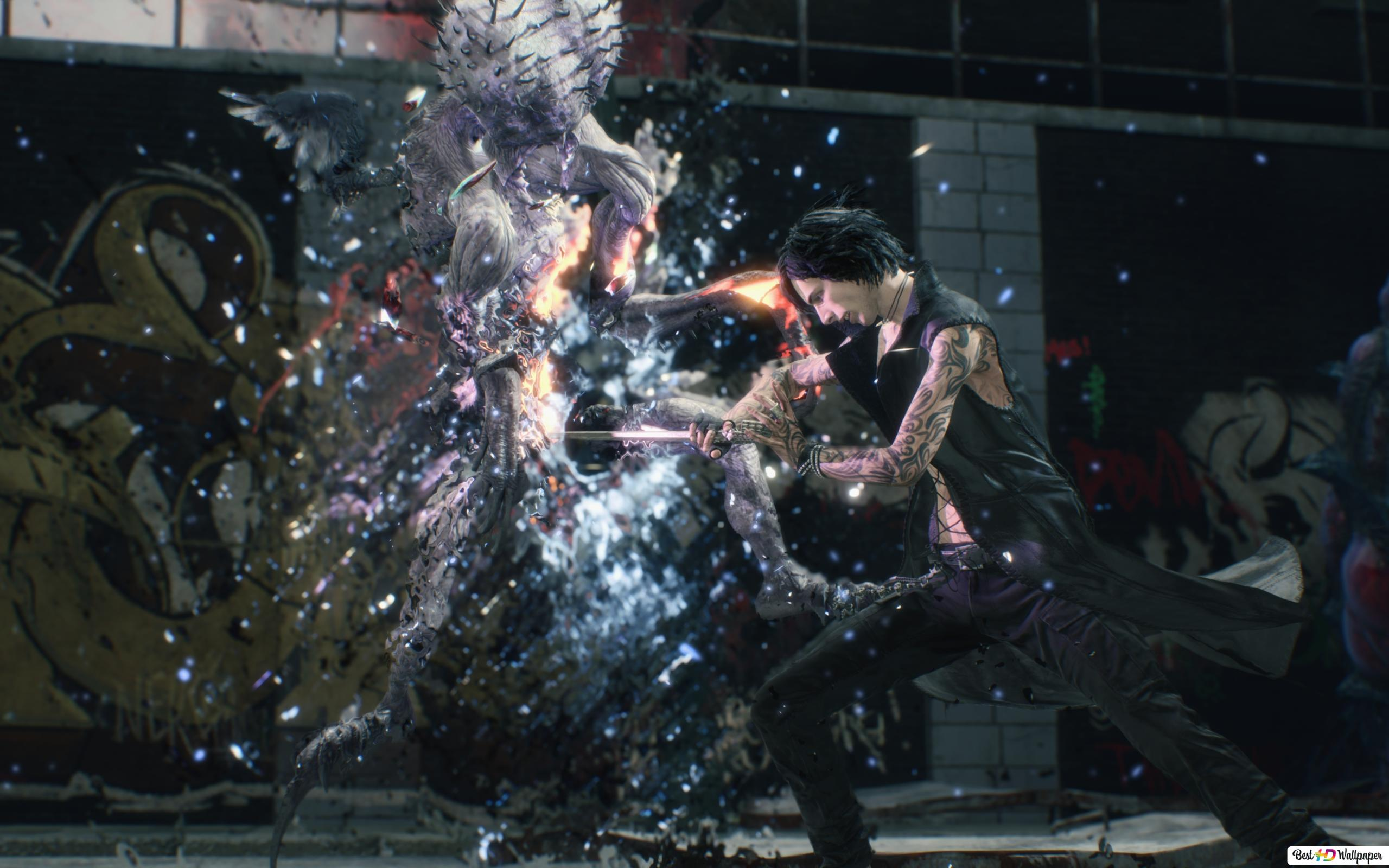 Devil May Cry 5 V Hd Wallpaper Download