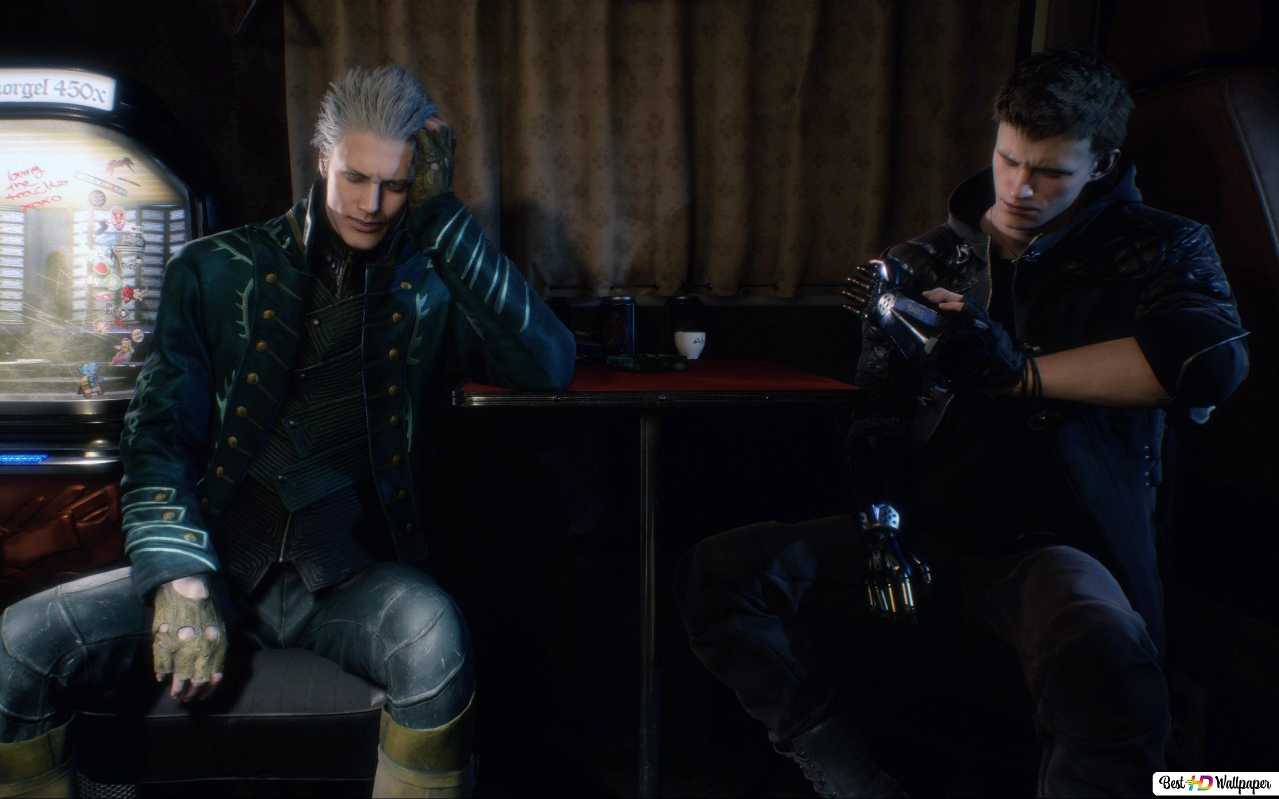 Devil May Cry 5 Vergil Nero Hd Wallpaper Download
