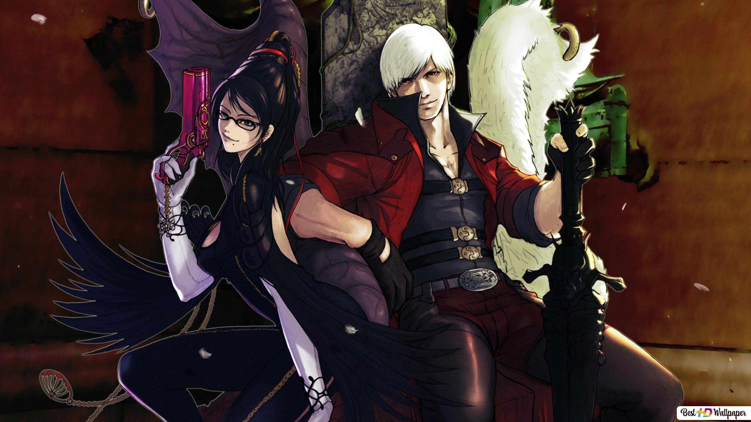 Devil May Cry Anime Character Hd Wallpaper Download