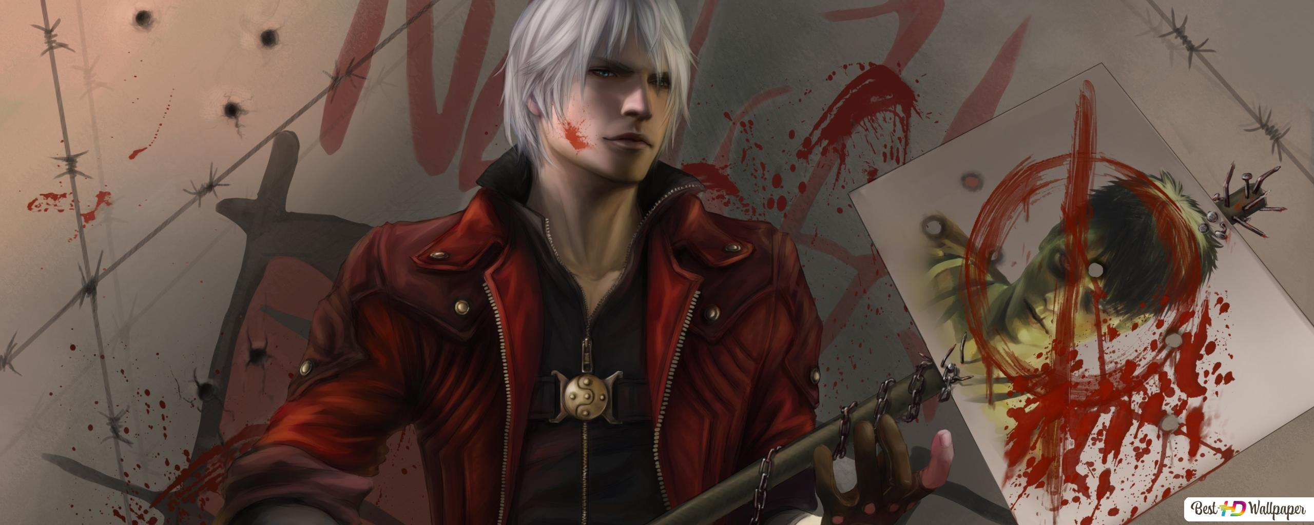 Devil May Cry Anime Dante Hd Wallpaper Download