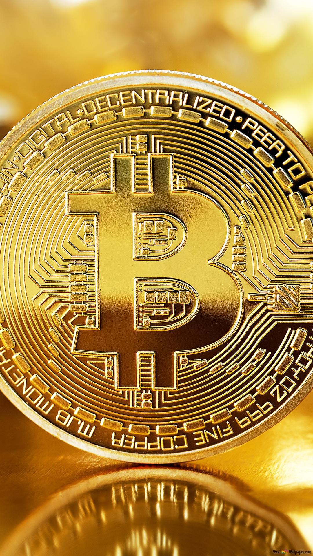 デジタルお金ビットコイン Hd壁紙のダウンロード