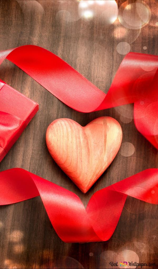 Descargar Fondo De Pantalla Día De San Valentín Corazón Y