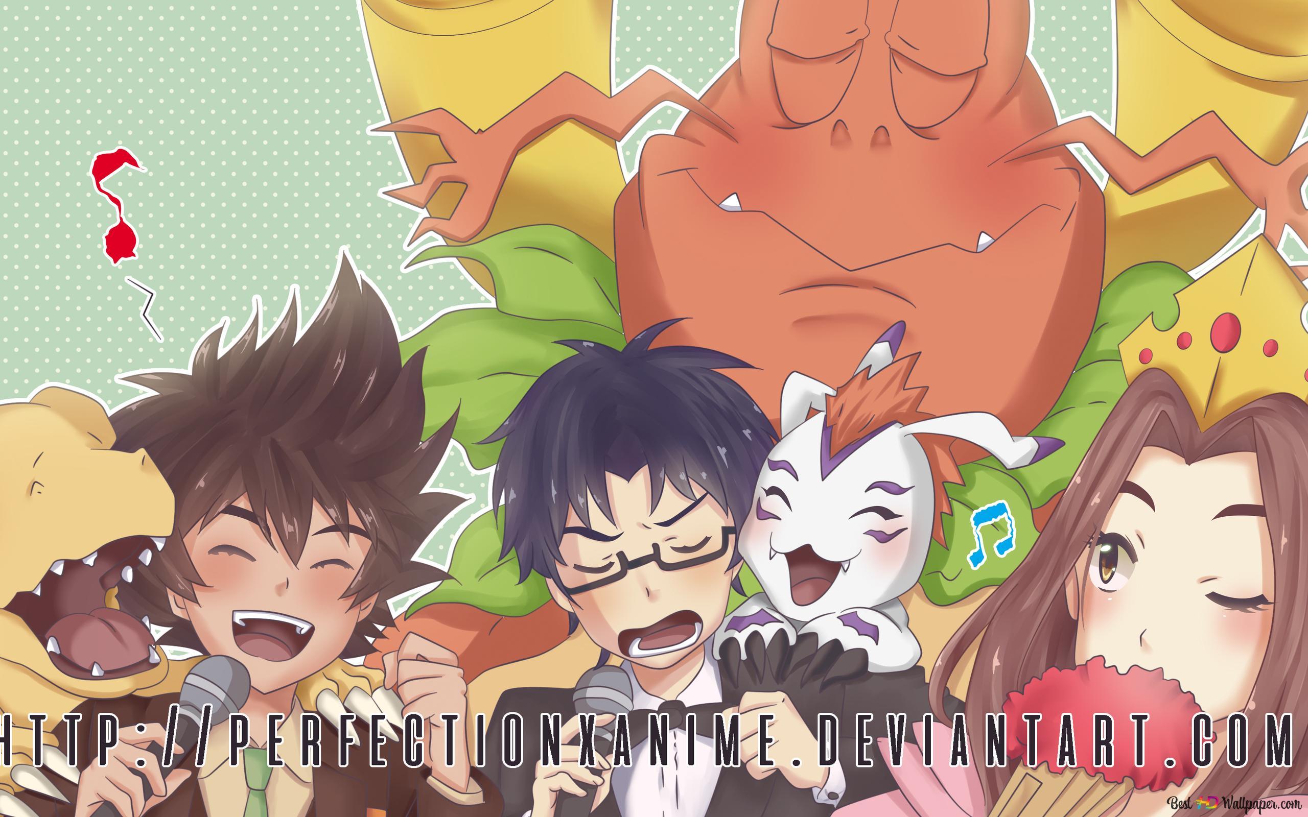 Digimon Adventure Tri Hd Wallpaper Download