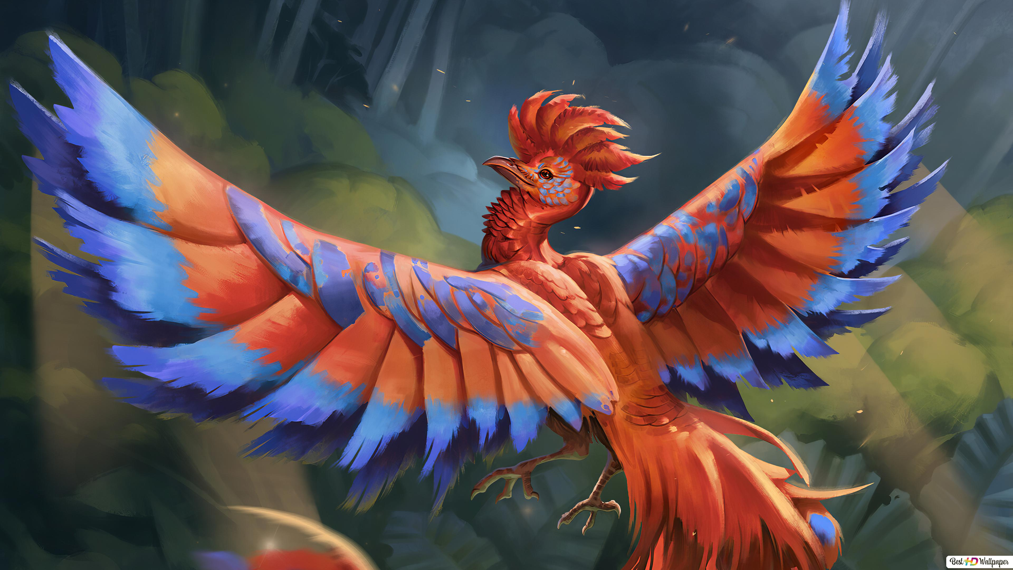 Digital Phoenix Hd Wallpaper Download