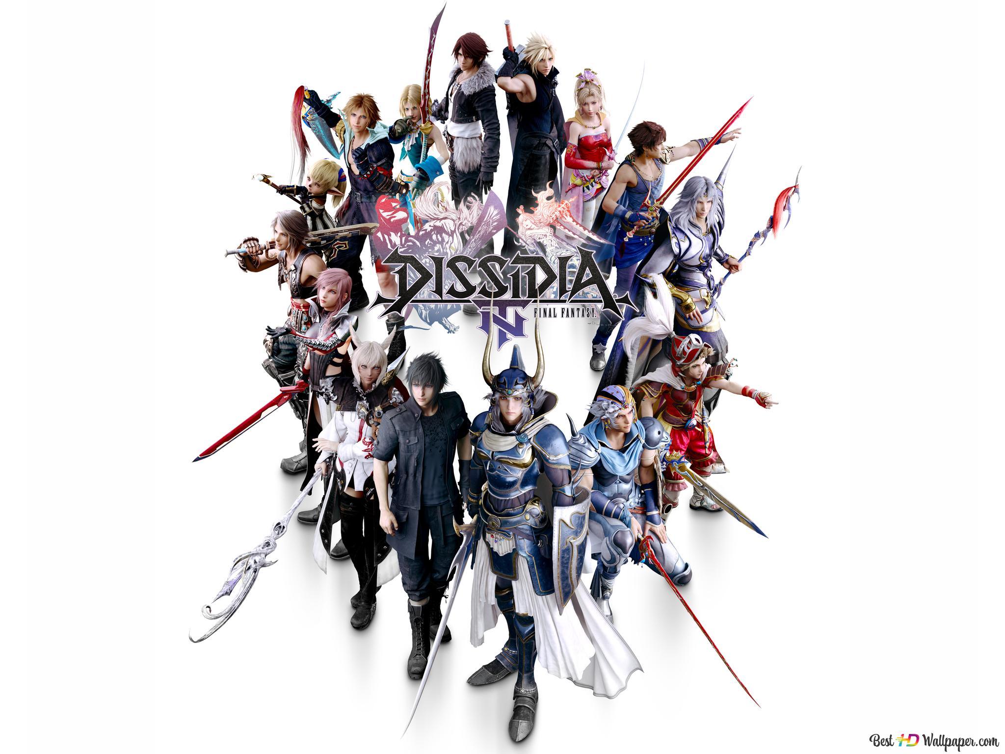 Dissidia Final Fantasy Nt Hd Wallpaper Download