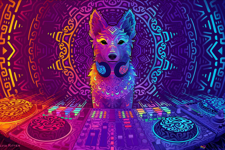 Dj Fox Digital Art Hd Wallpaper Download