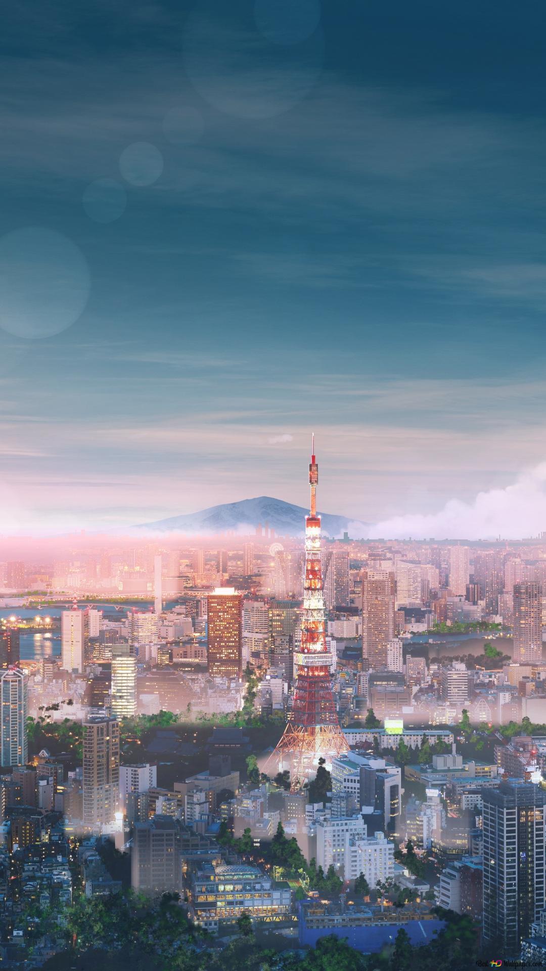 东京城高清壁纸下载
