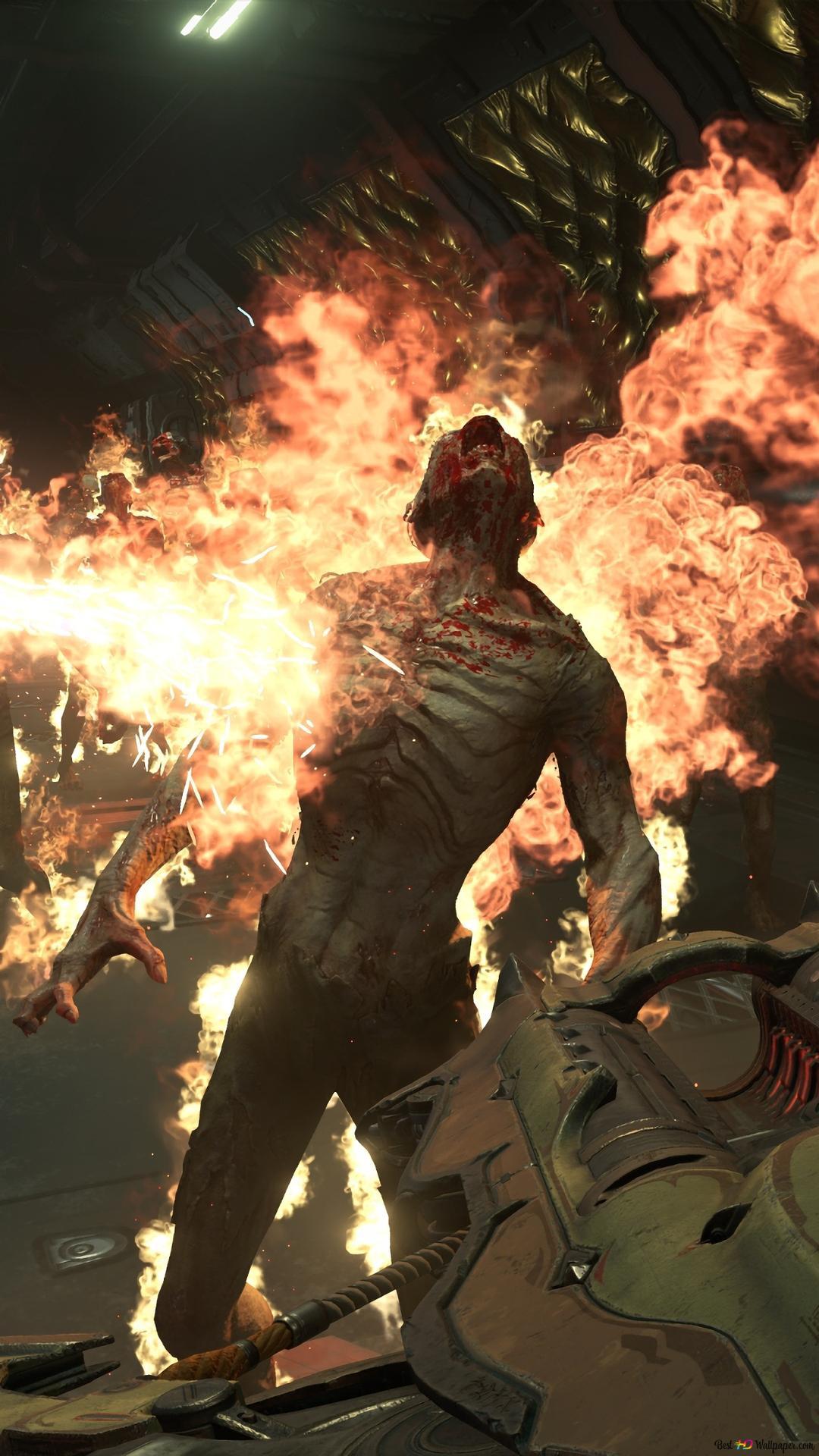 Doom Eternal Monsters Hd Wallpaper Download