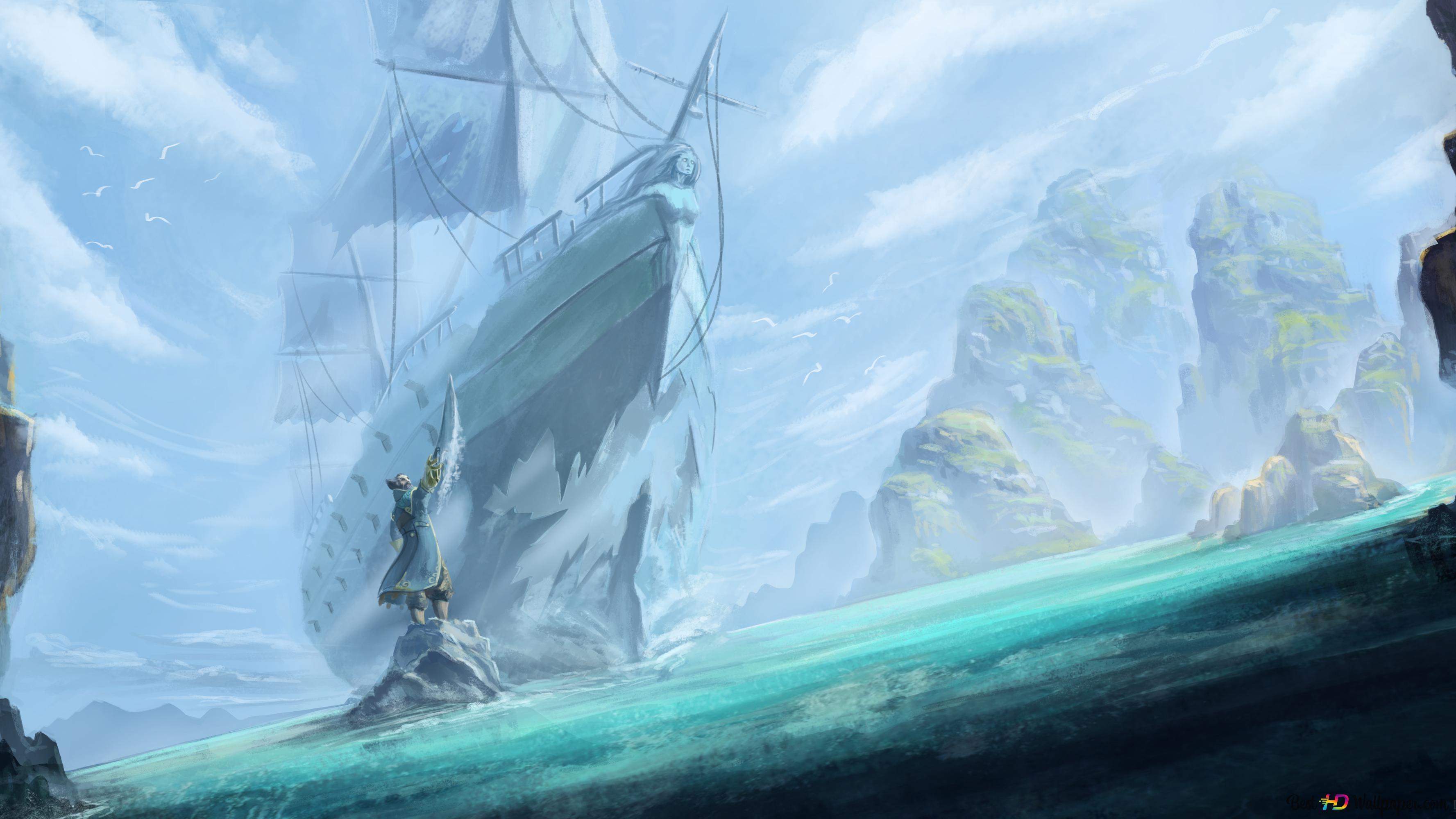 DotA 2 (Kunkka Pirate Ship) HD
