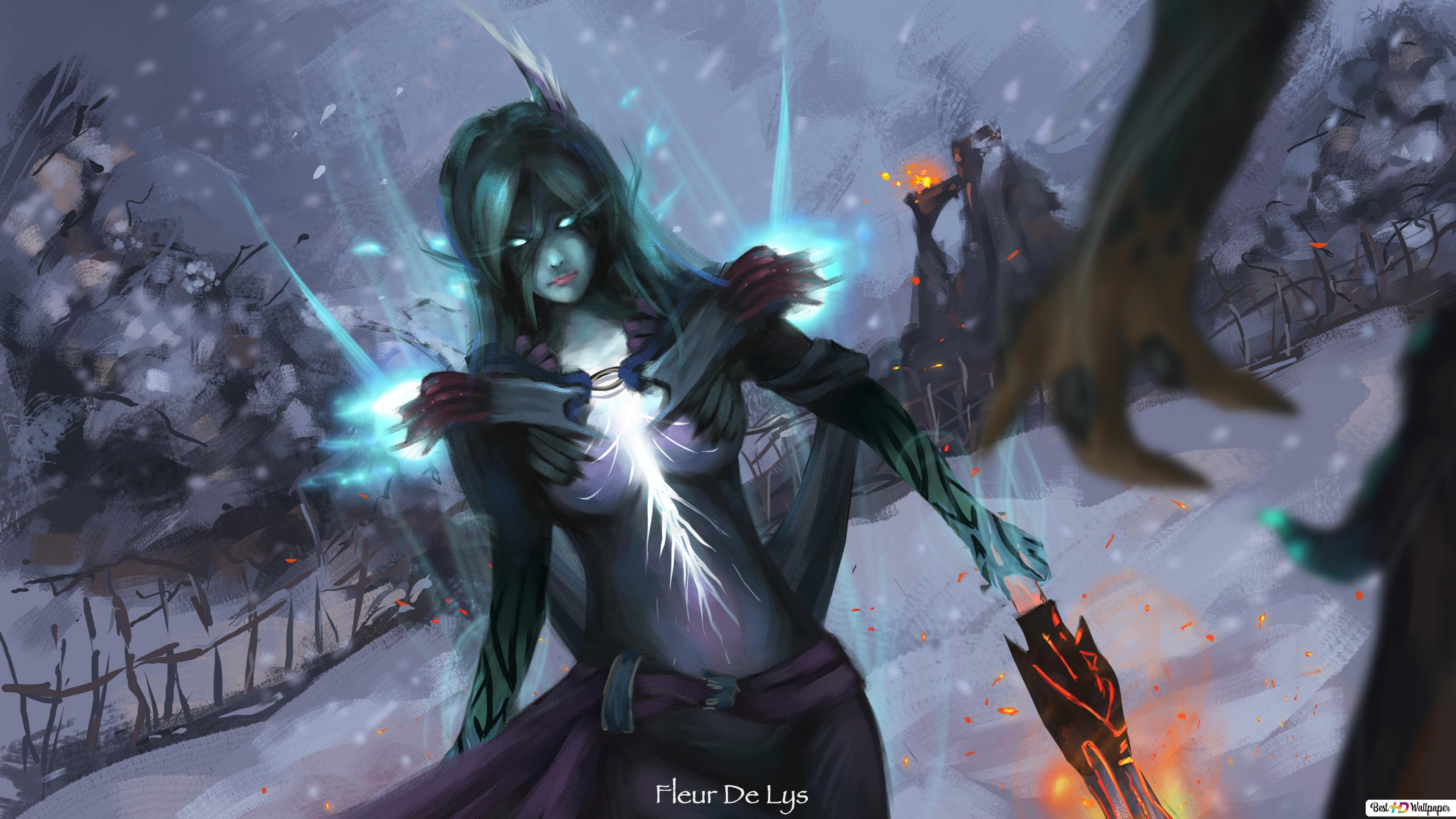 Dota 2 Phantom Assassin Hd Wallpaper Download