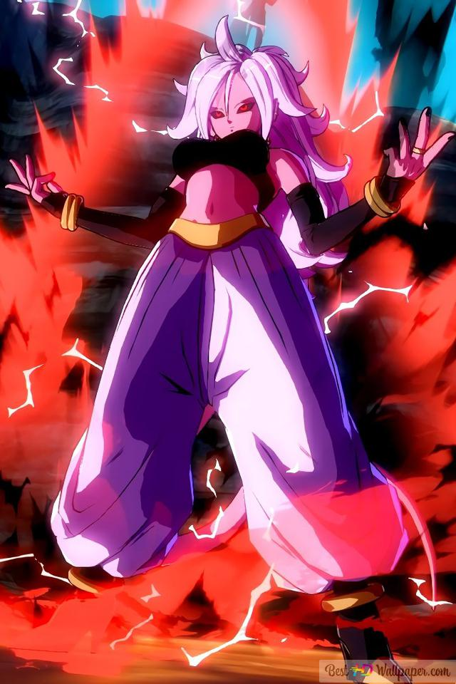 Dragon Ball Fighterz Android 21 Hd Wallpaper Download