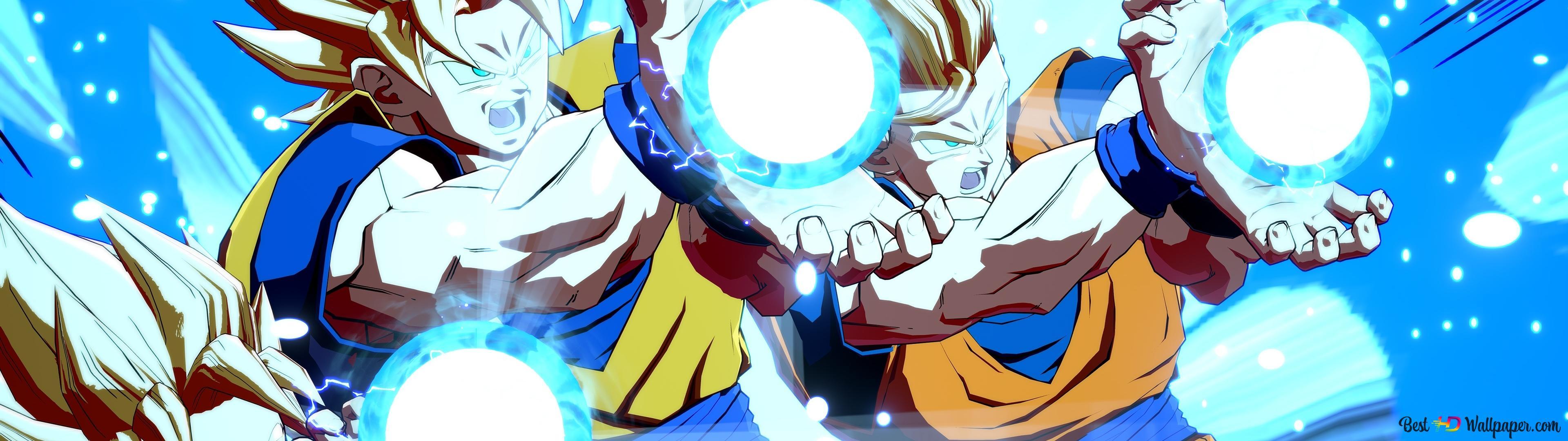 Descargar Fondo De Pantalla Dragon Ball Fighterz Goten