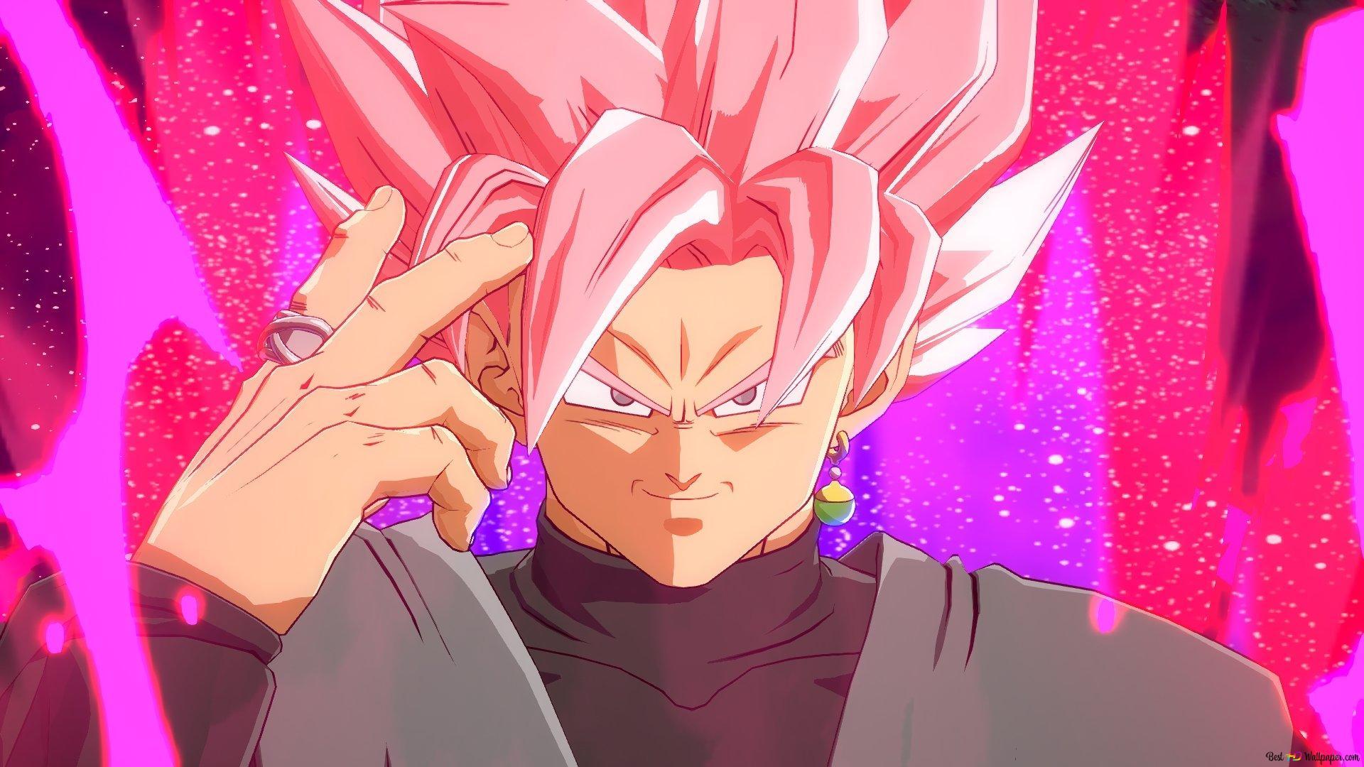 Dragon Ball Fighterz Super Saiyan Rose Hd Wallpaper Download