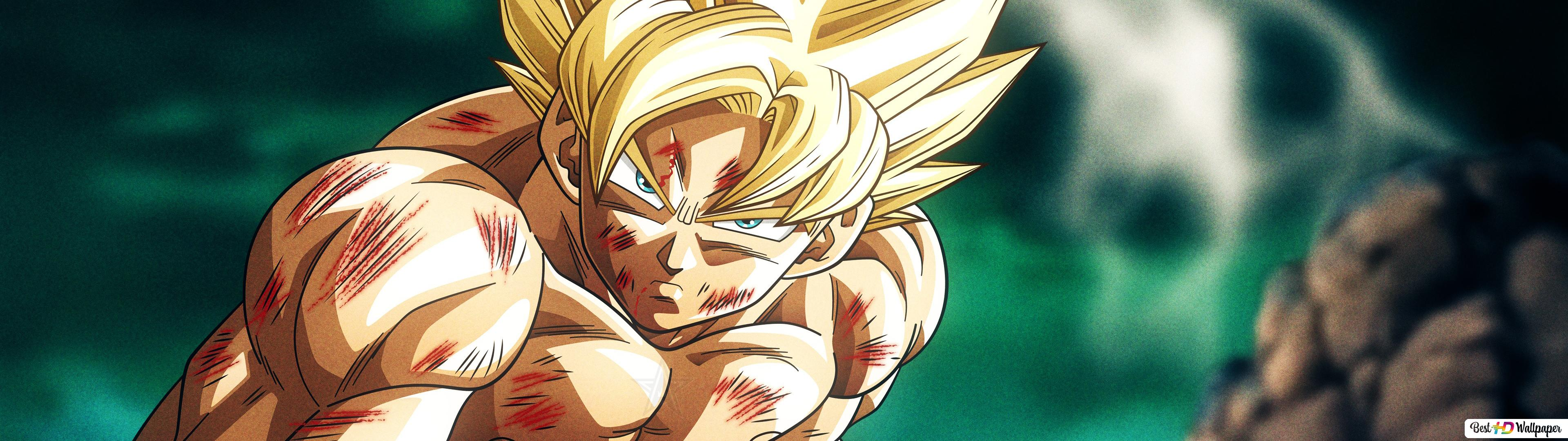 Descargar Fondo De Pantalla Dragon Ball Super 4k Goku Hd