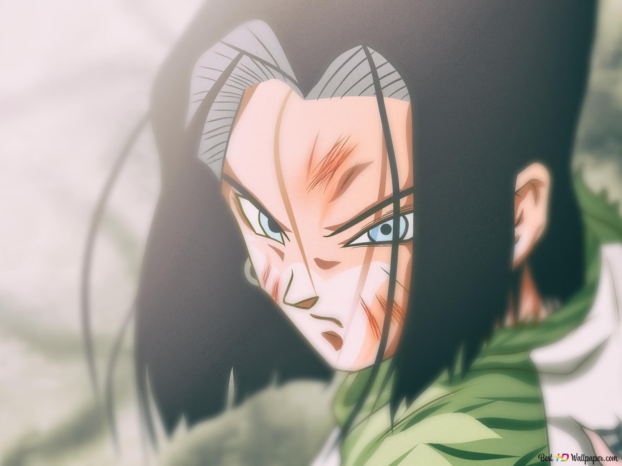 Dragon Ball Super Android 17 Hd Wallpaper Download
