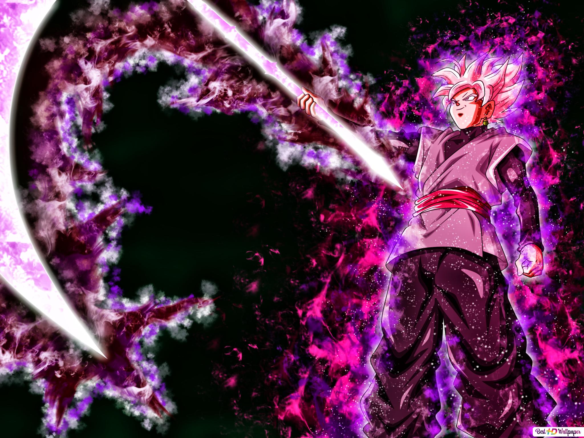 Dragon Ball Super Black Goku Unduhan Wallpaper Hd