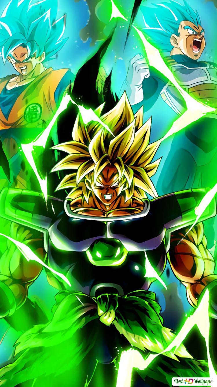 Dragon Ball Super Broly Film Broly Goku Vegeta Hd