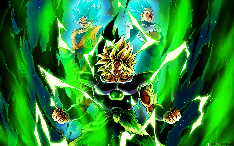 Dragon Ball Super Broly Movie Broly Goku Vegeta Unduhan Wallpaper Hd