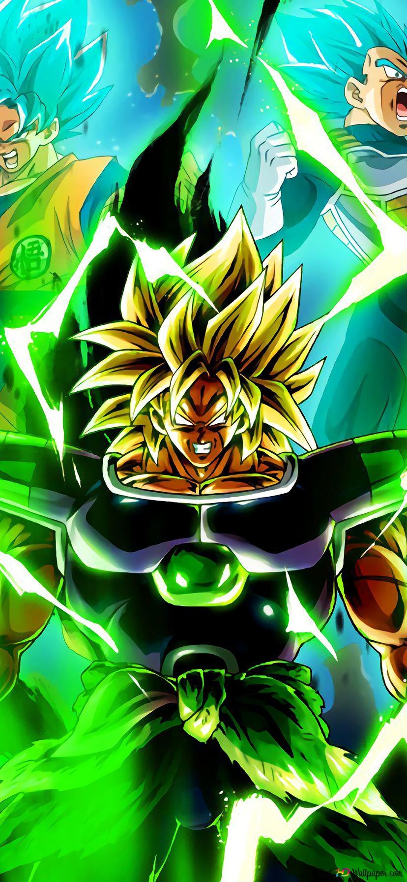 Dragon Ball Super Broly Movie Broly Goku Vegeta Hd