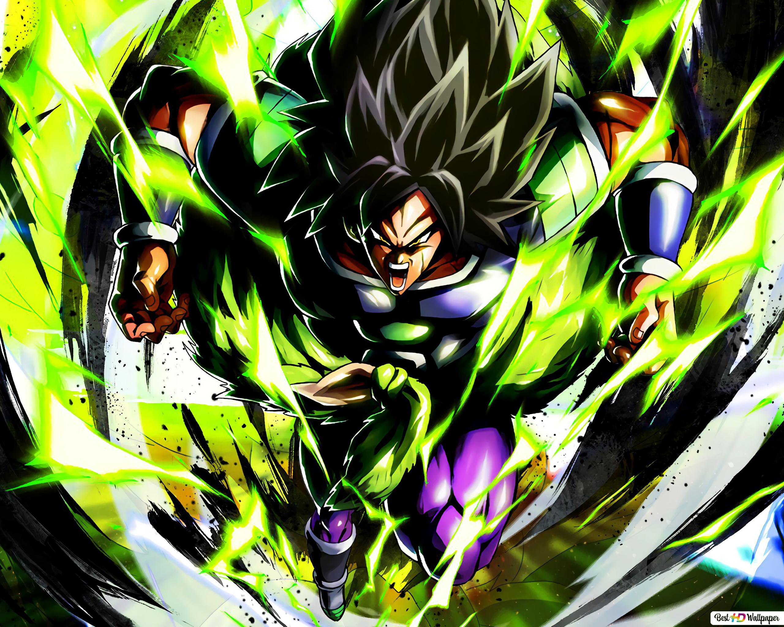 Dragon Ball Super Broly Movie Broly Hd Wallpaper Download