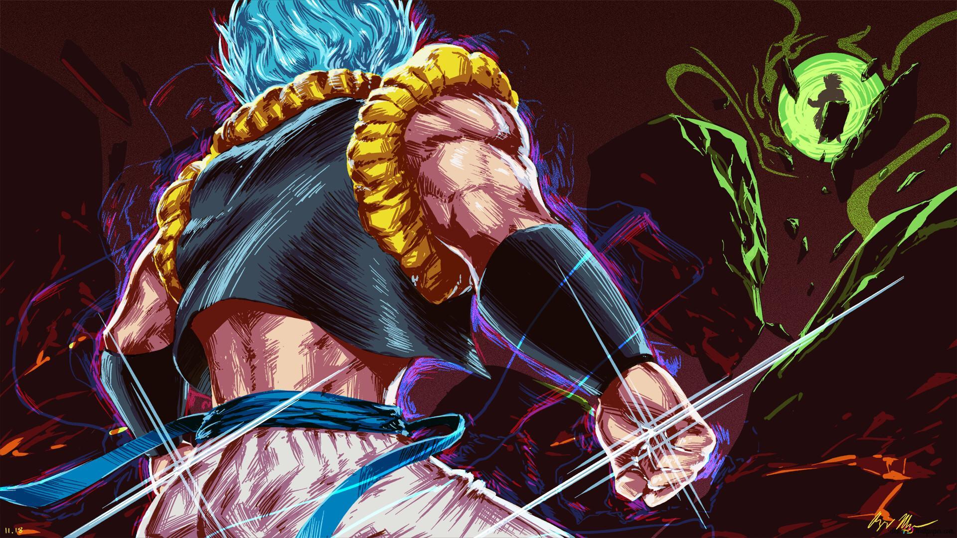 Dragon Ball Super Broly Movie Gogeta Vs Broly Hd Wallpaper Download
