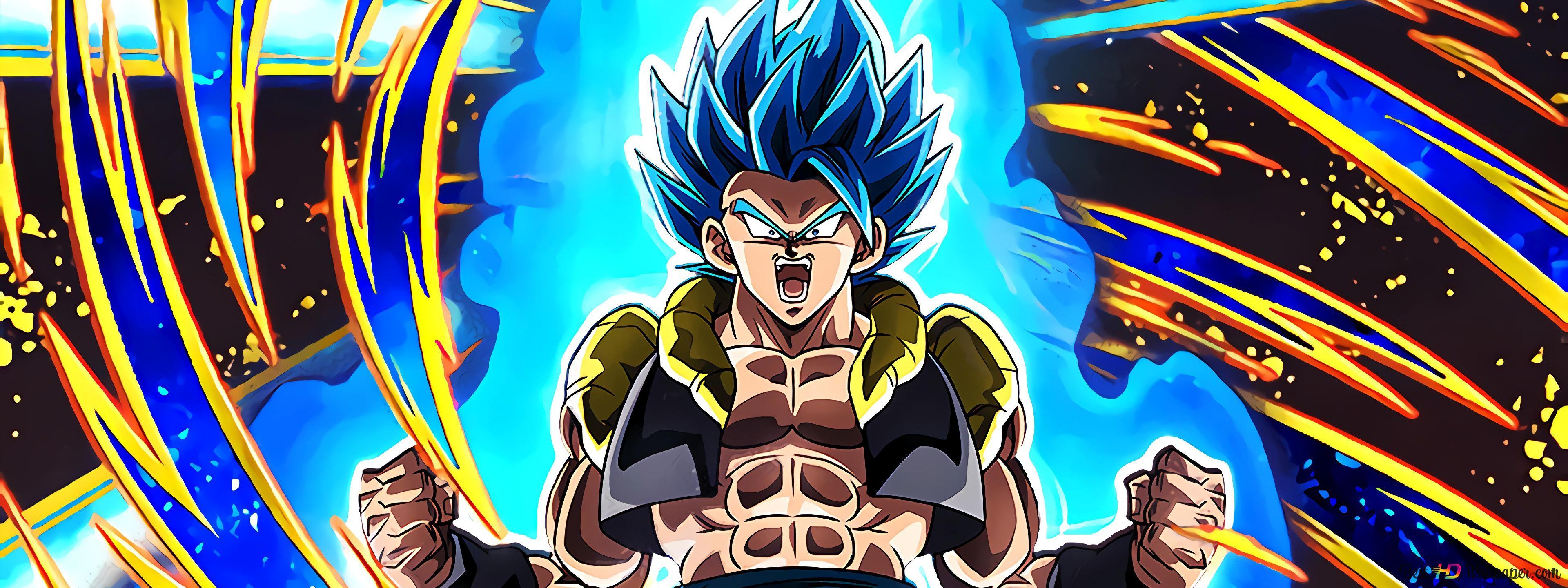 Dragon Ball Super Broly Movie Gogeta Hd Wallpaper Download