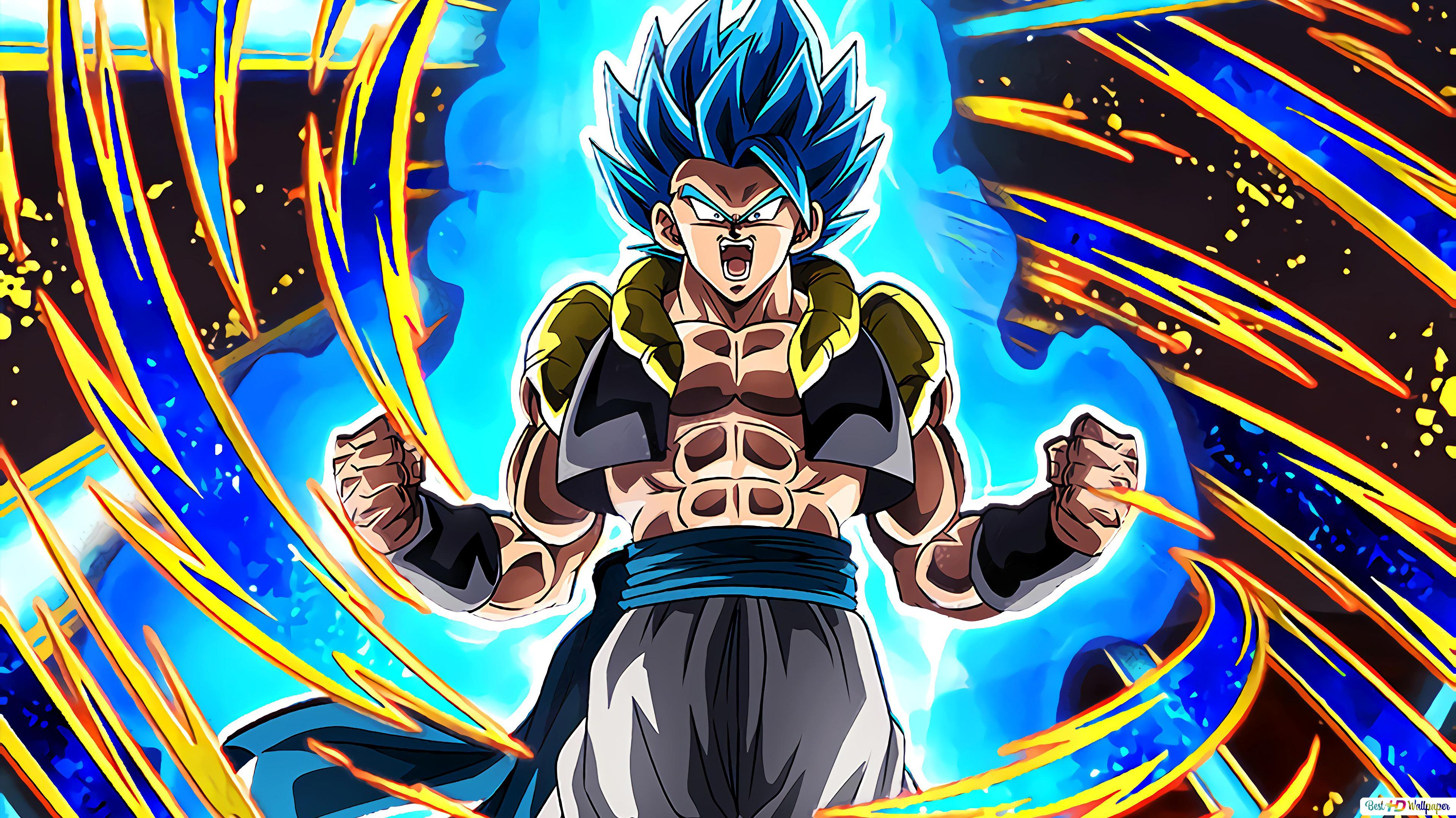 Dragon Ball Super Broly Movie Gogeta Hd Wallpaper Download