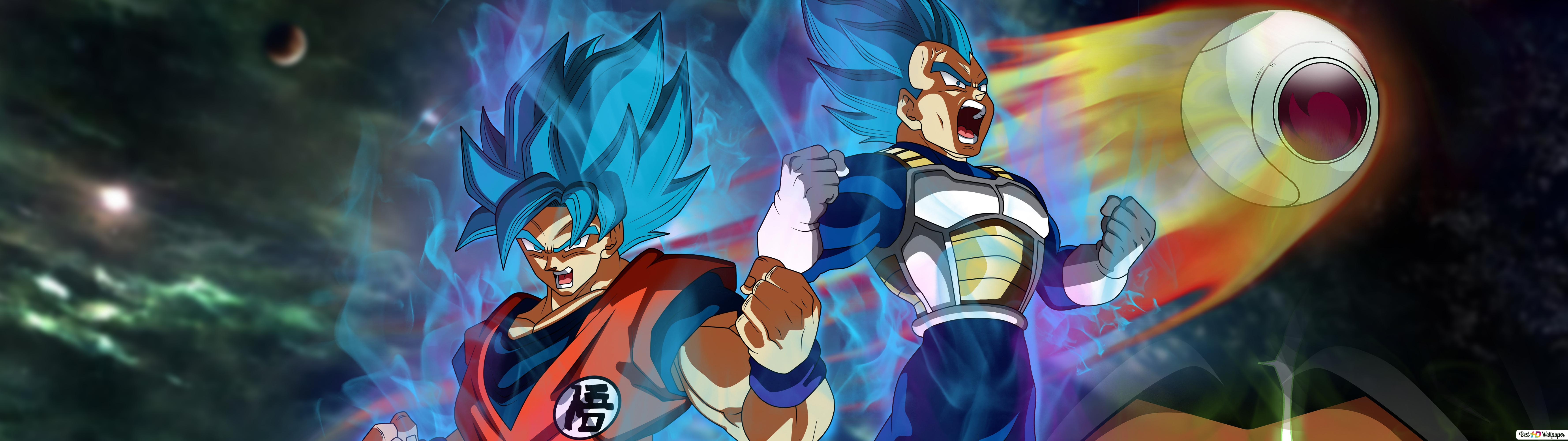 Dragon Ball Super Broly Movie Goku Vegeta Broly Hd Wallpaper