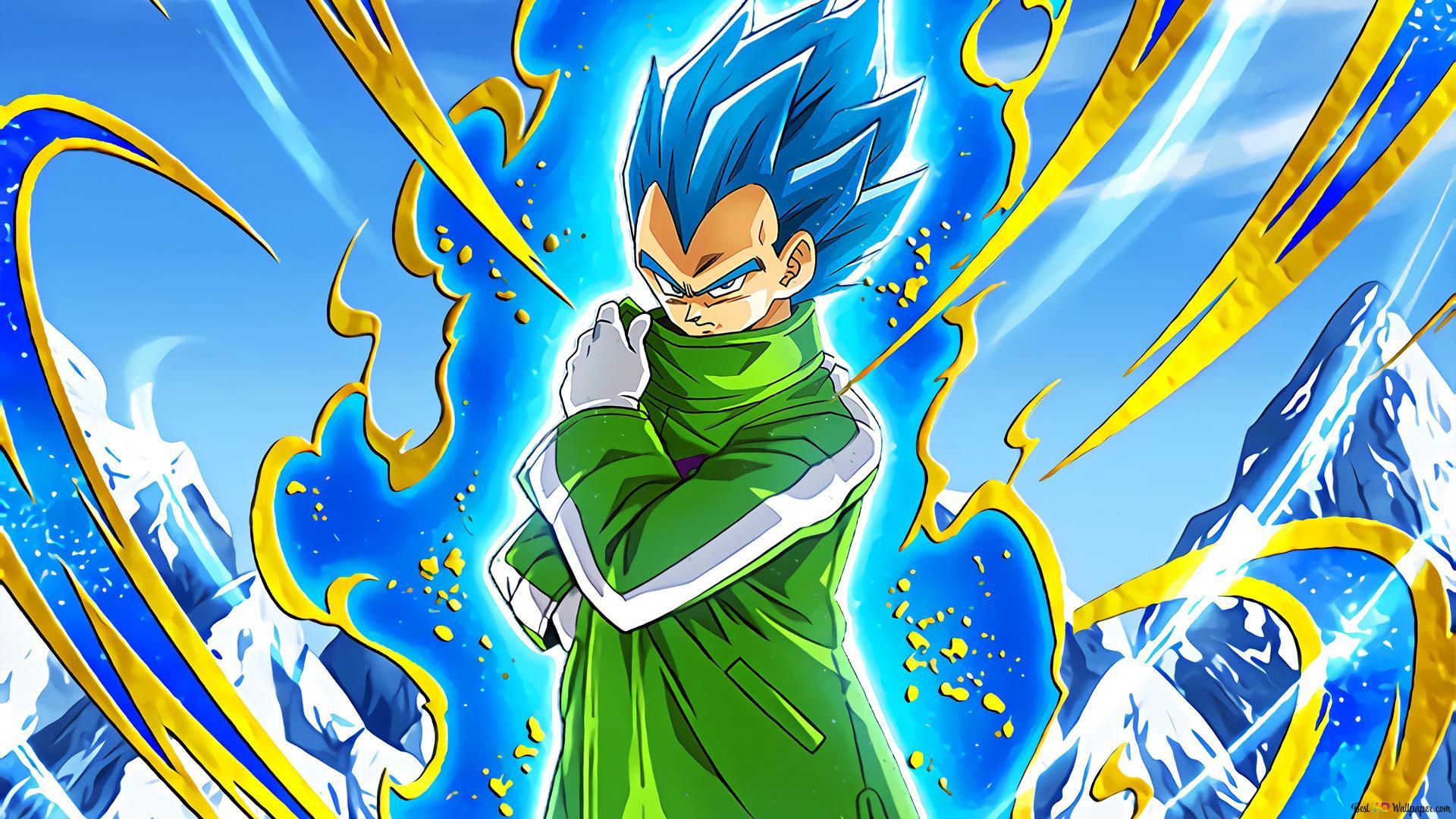 Dragon Ball Super Broly Movie Vegeta Super Saiyan Biru Unduhan Wallpaper Hd