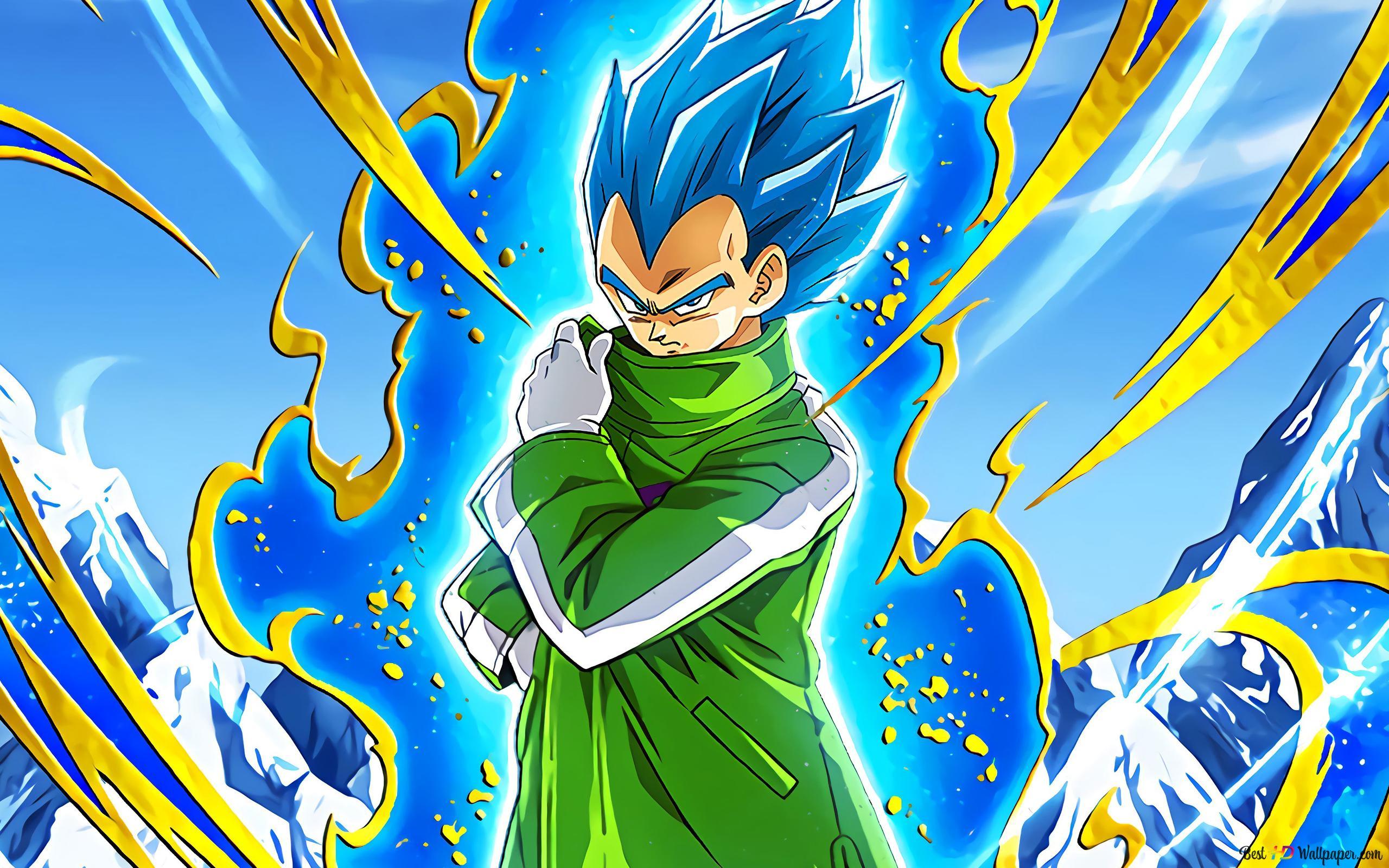 Dragon Ball Super Broly Movie Vegeta Super Saiyan Blue Hd