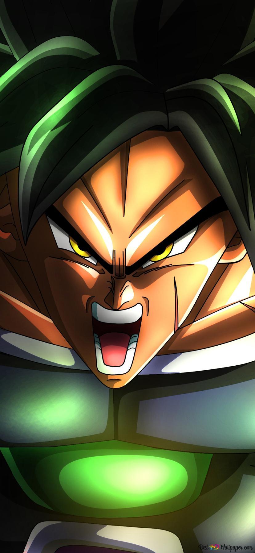 Descargar Fondo De Pantalla Dragon Ball Super Broly Hd