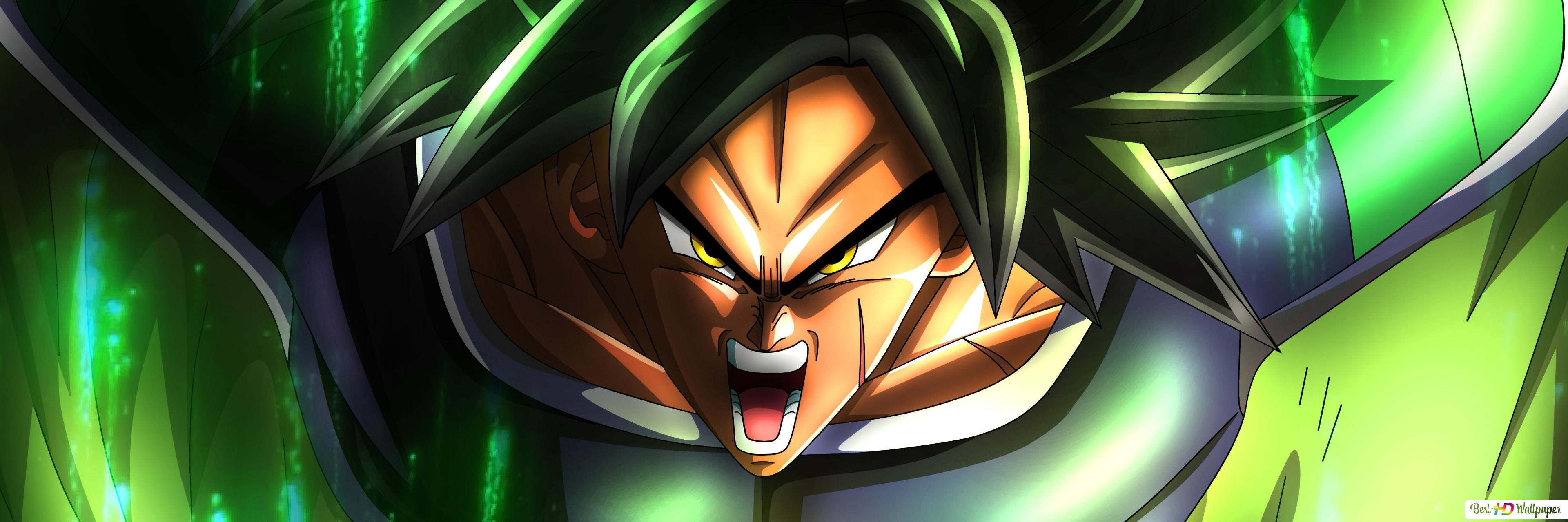Dbz Dual Screen Wallpapers: Broly HD Wallpaper Download