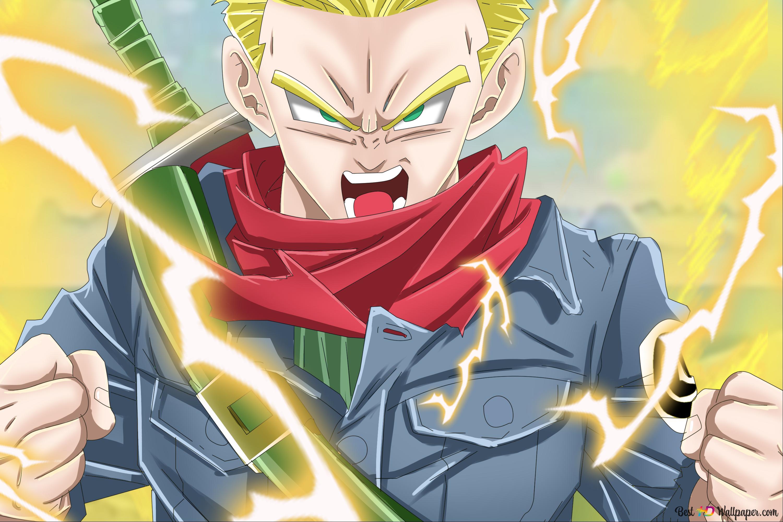 Dragon Ball Super Future Trunks Hd Wallpaper Download