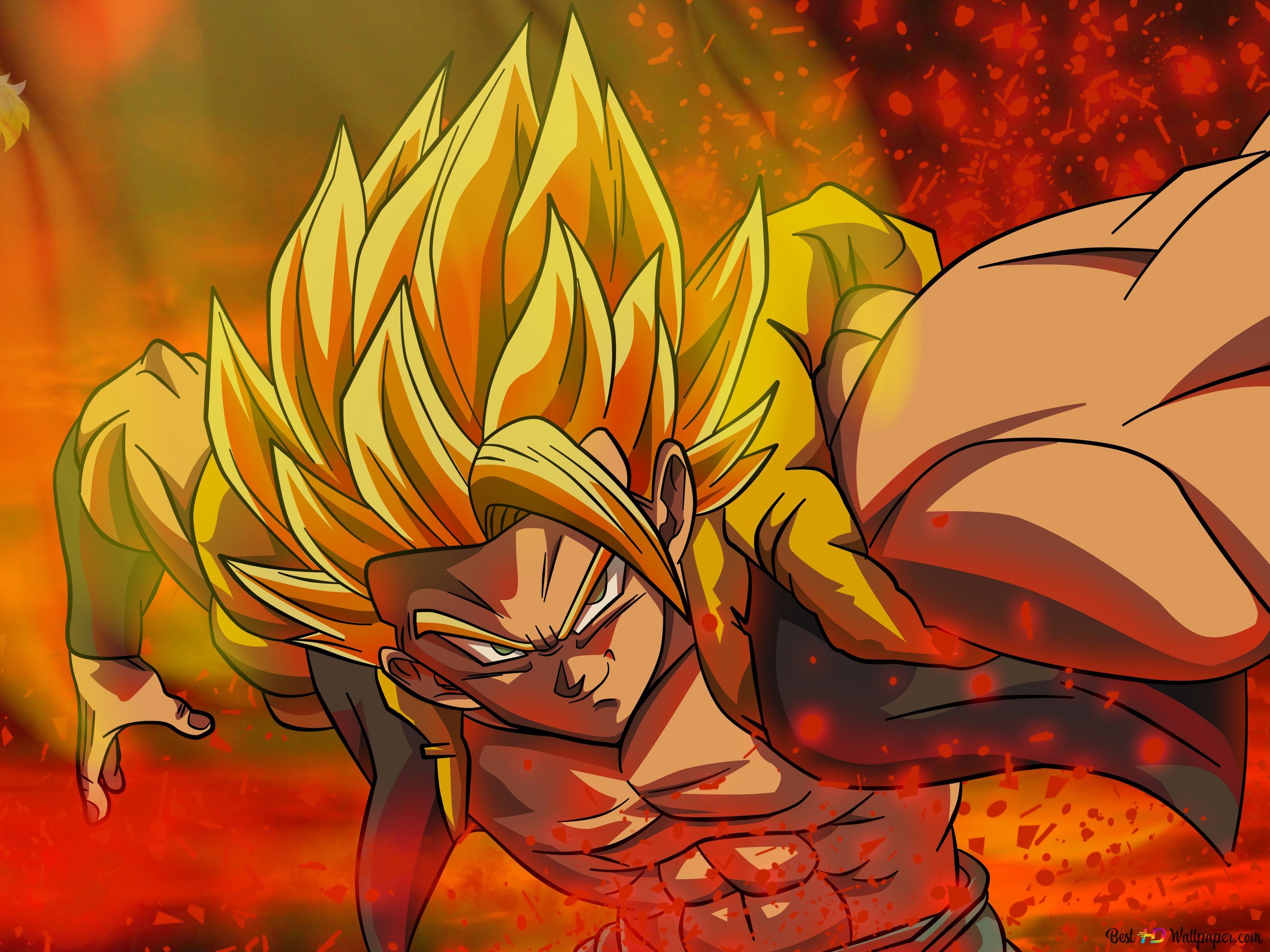 Dragon Ball Super - Gogeta SSJ HD fond d'écran télécharger