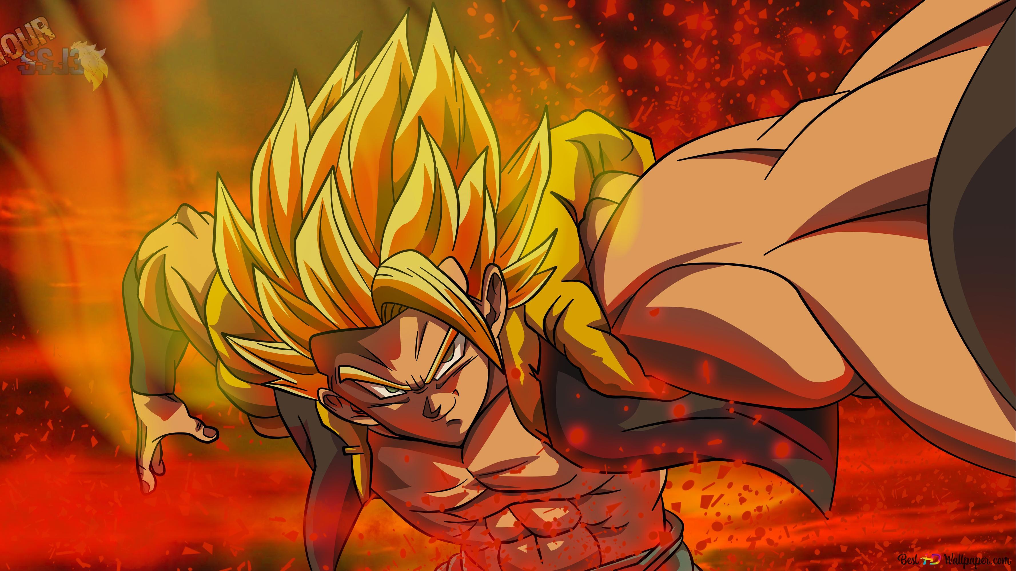 Descargar Fondo De Pantalla Dragon Ball Super Gogeta Ssj Hd