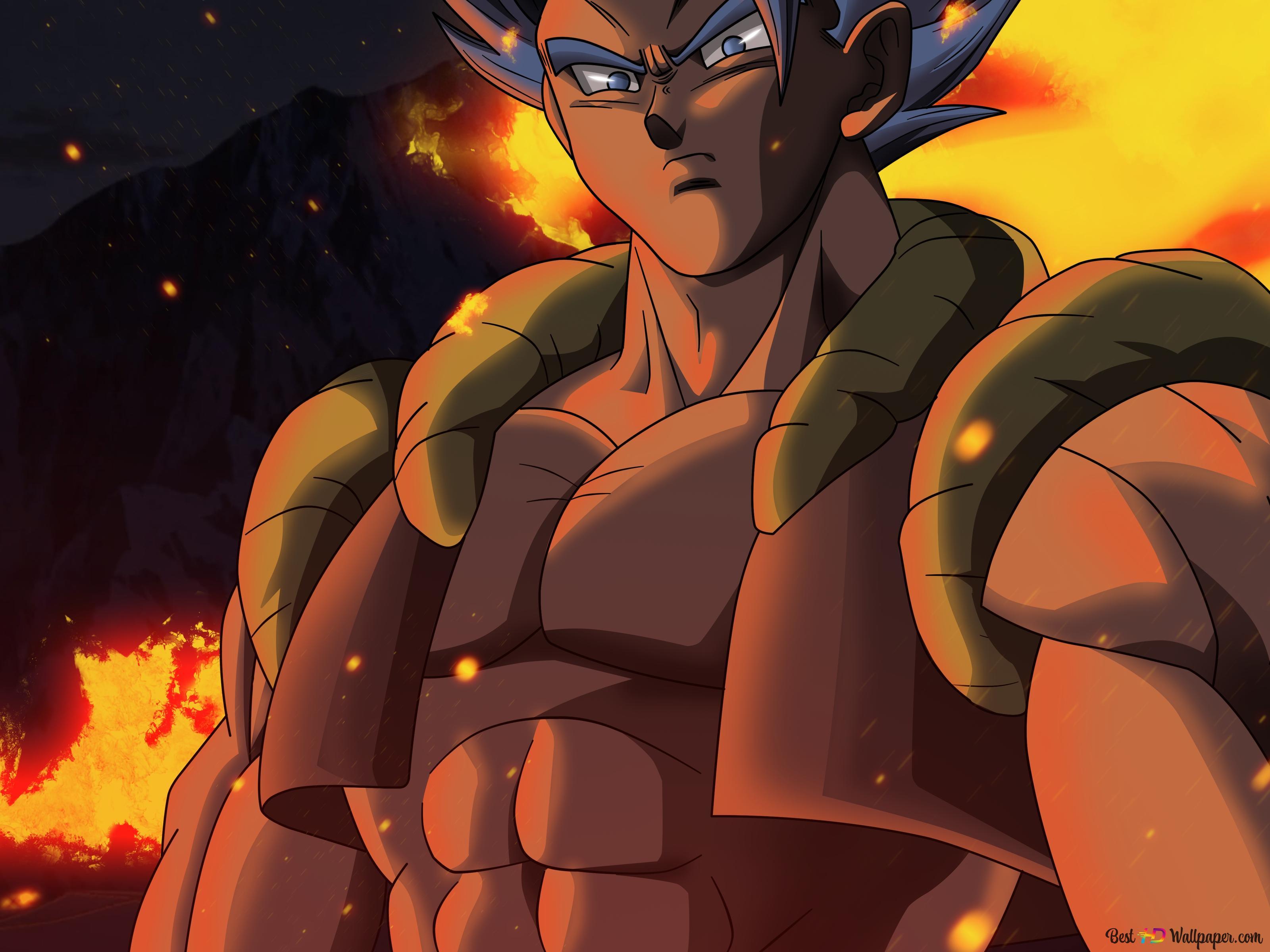 Dragon Ball Super Gogeta Super Saiyan Blue Hd Wallpaper Download