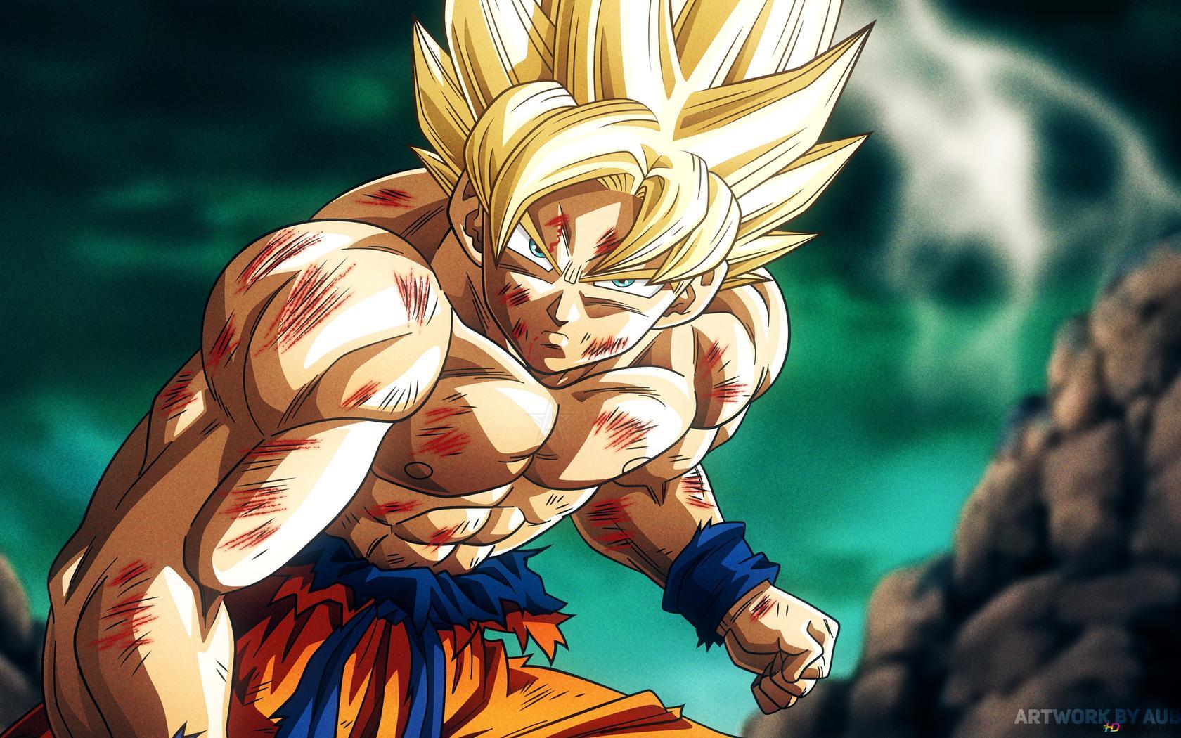 Dragon Ball Super Goku 4k Hd Hintergrundbilder Herunterladen