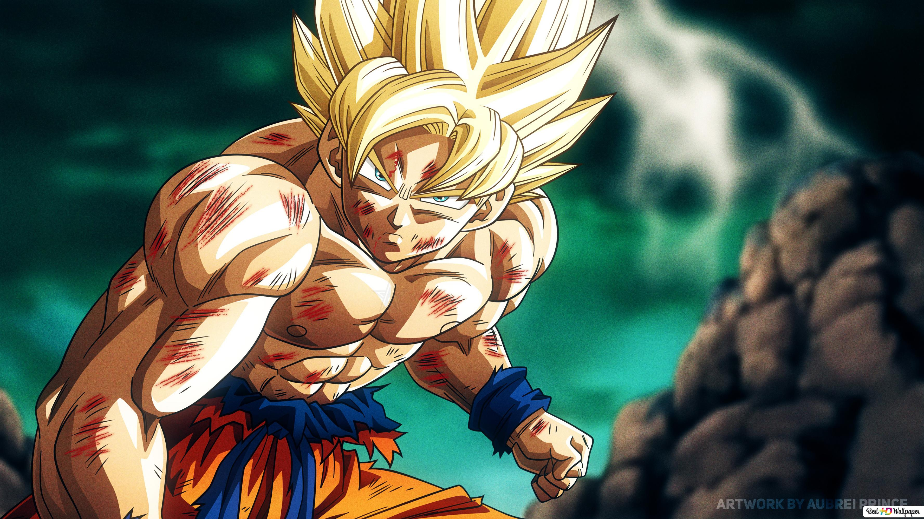 Dragon Ball Super   Goku 25k HD Hintergrundbilder herunterladen