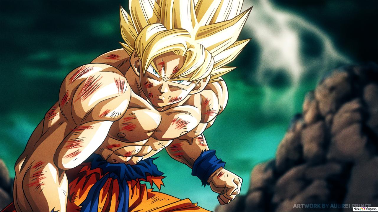 Dragon Ball Super Goku 4k Hd Wallpaper Download