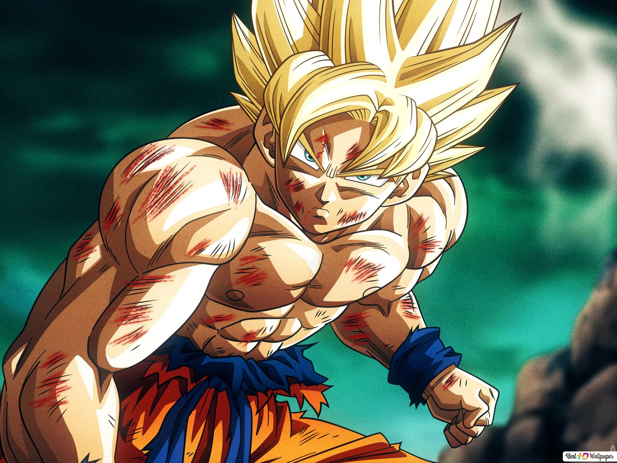 Dragon Ball Super Goku 4k Unduhan Wallpaper Hd