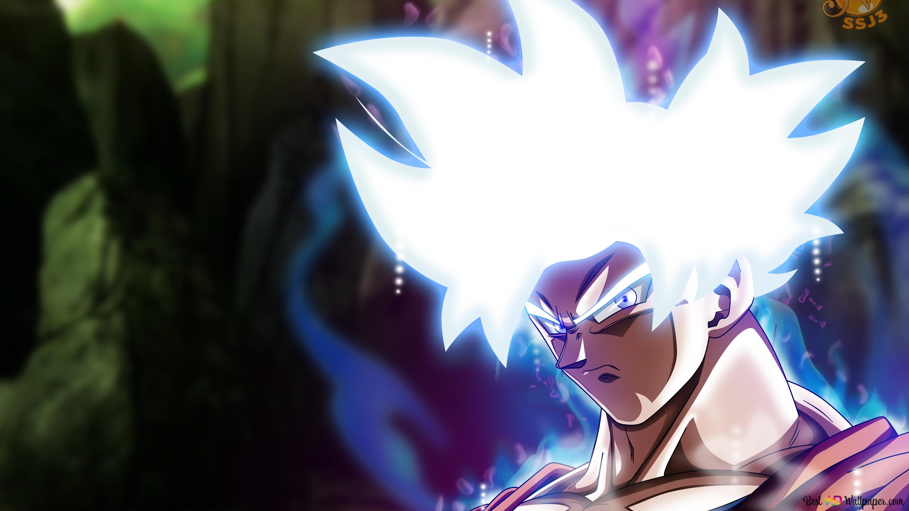 Dragon Ball Super Goku Mastered Ultra Instinct Hd Wallpaper Download